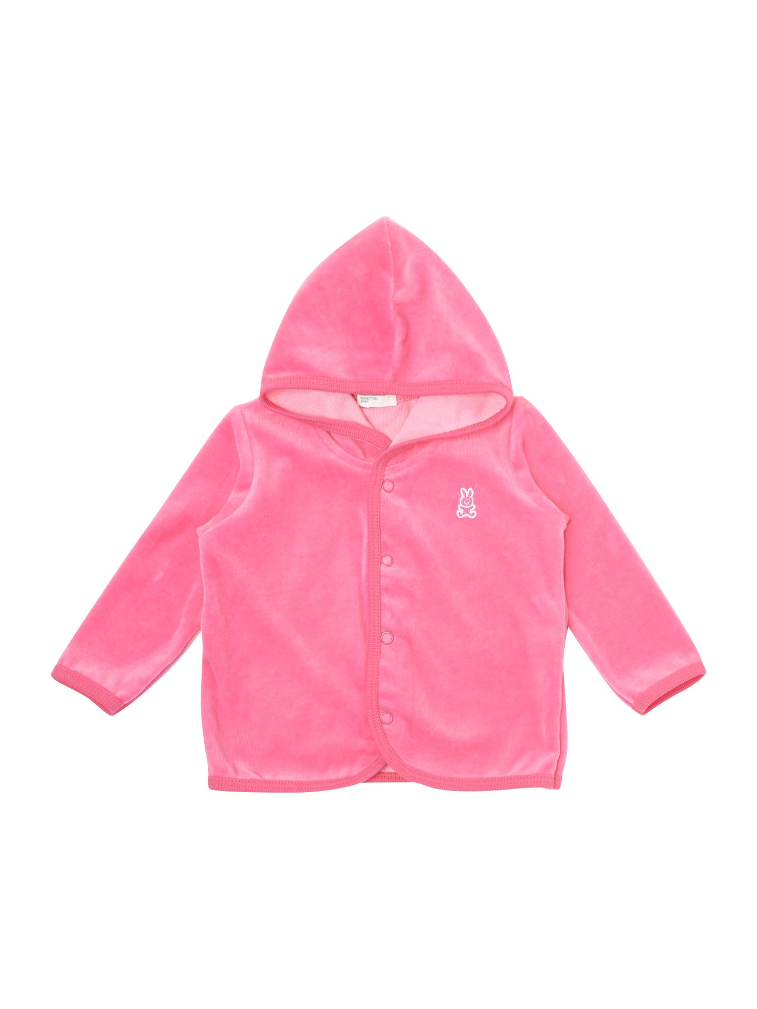 Girl`s velour hoody