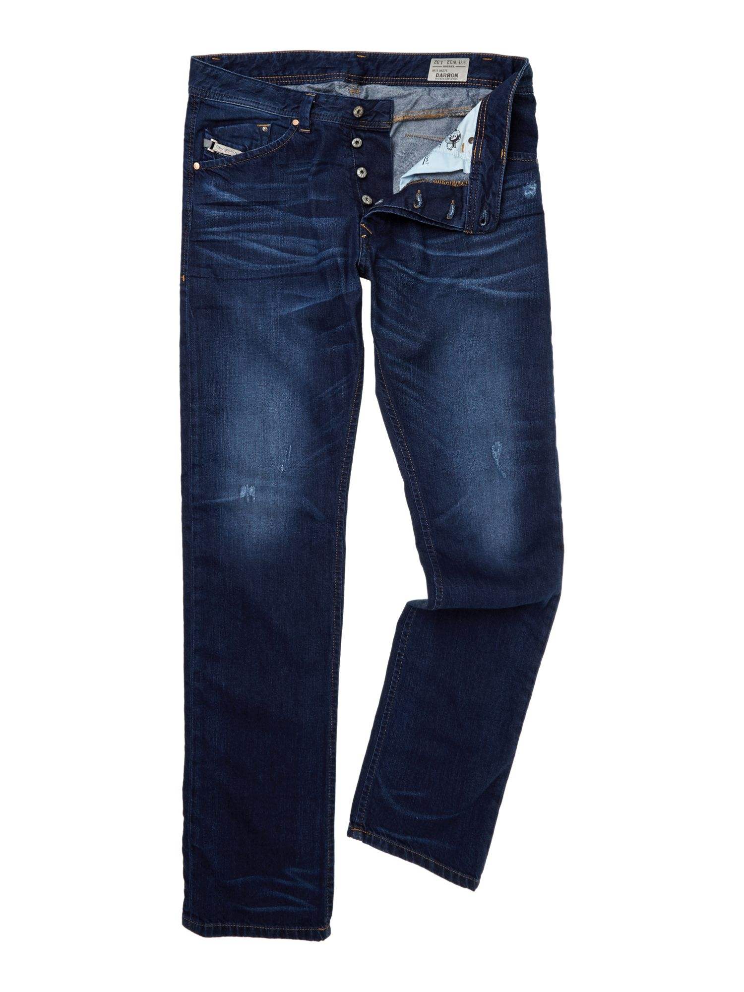 Darron 0827e tapered fit jean