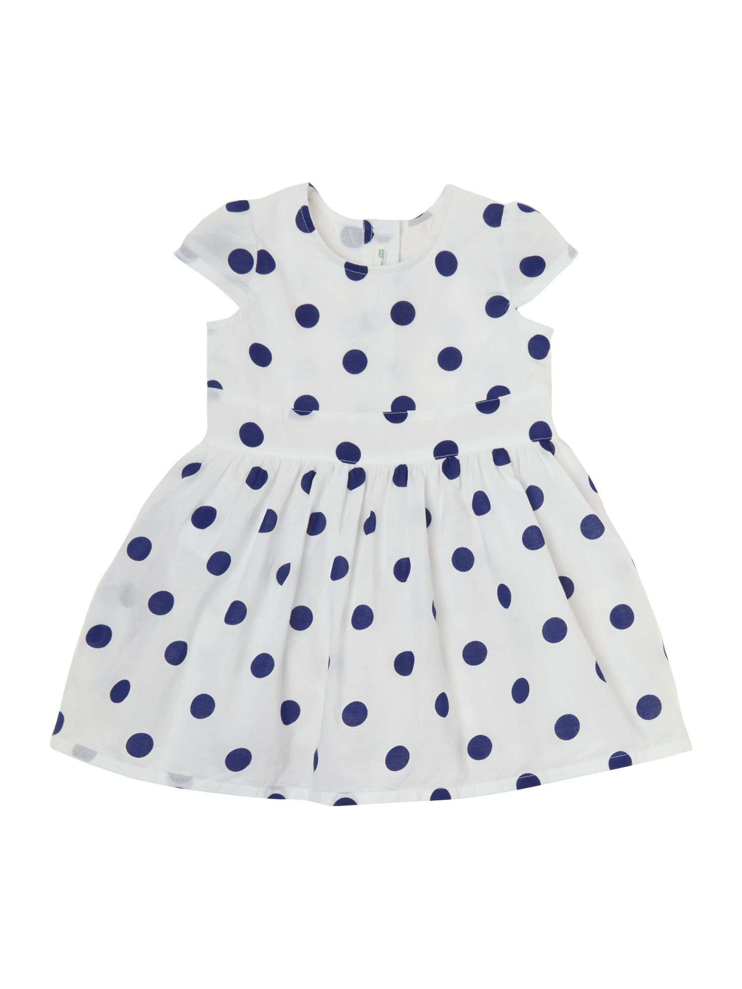Baby girls spotty dress