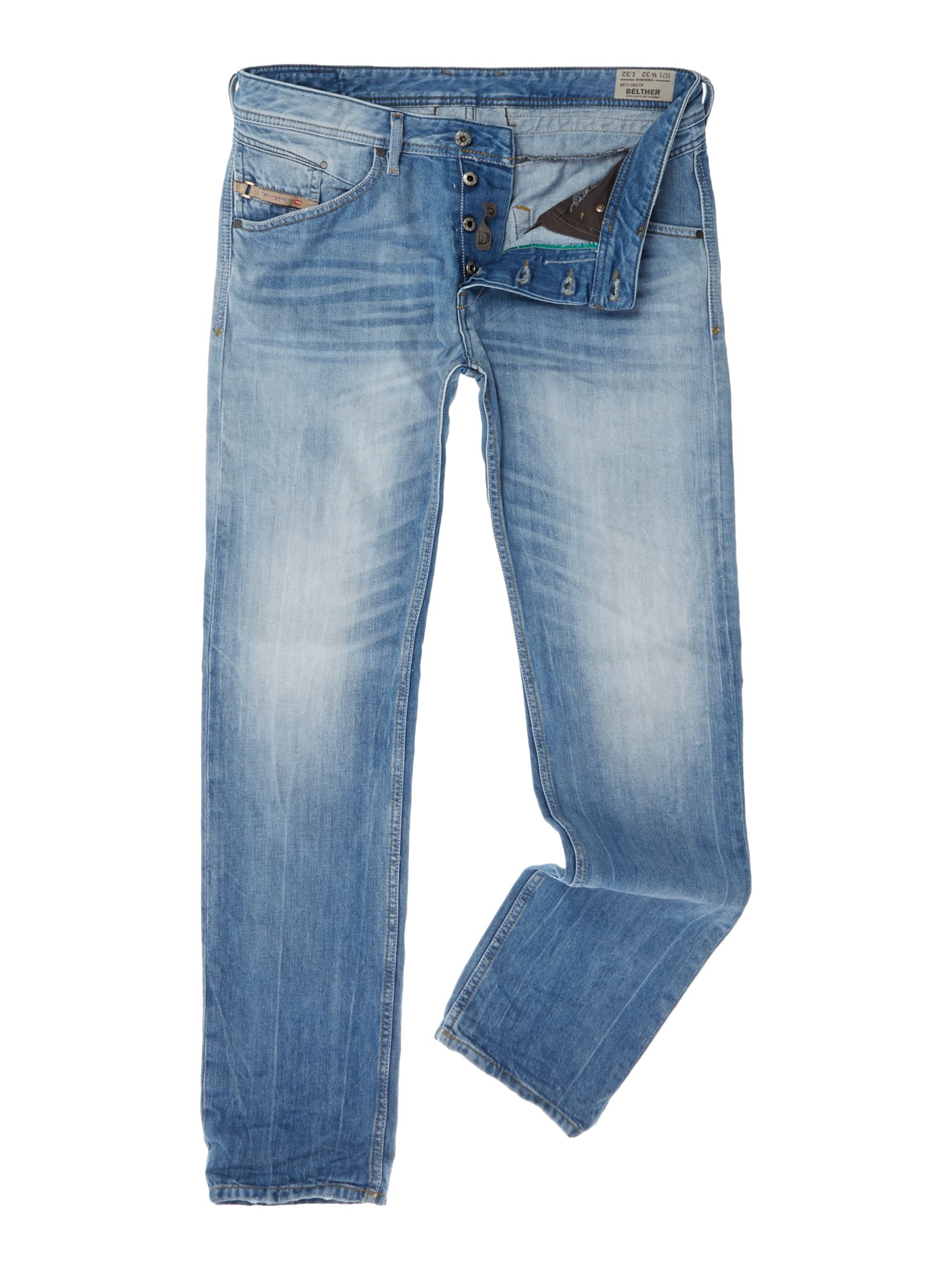 Belther 0827F tapered fit jean