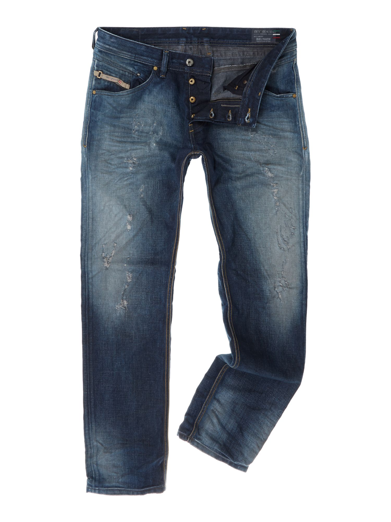 Belther 0828T icon tapered fit jean