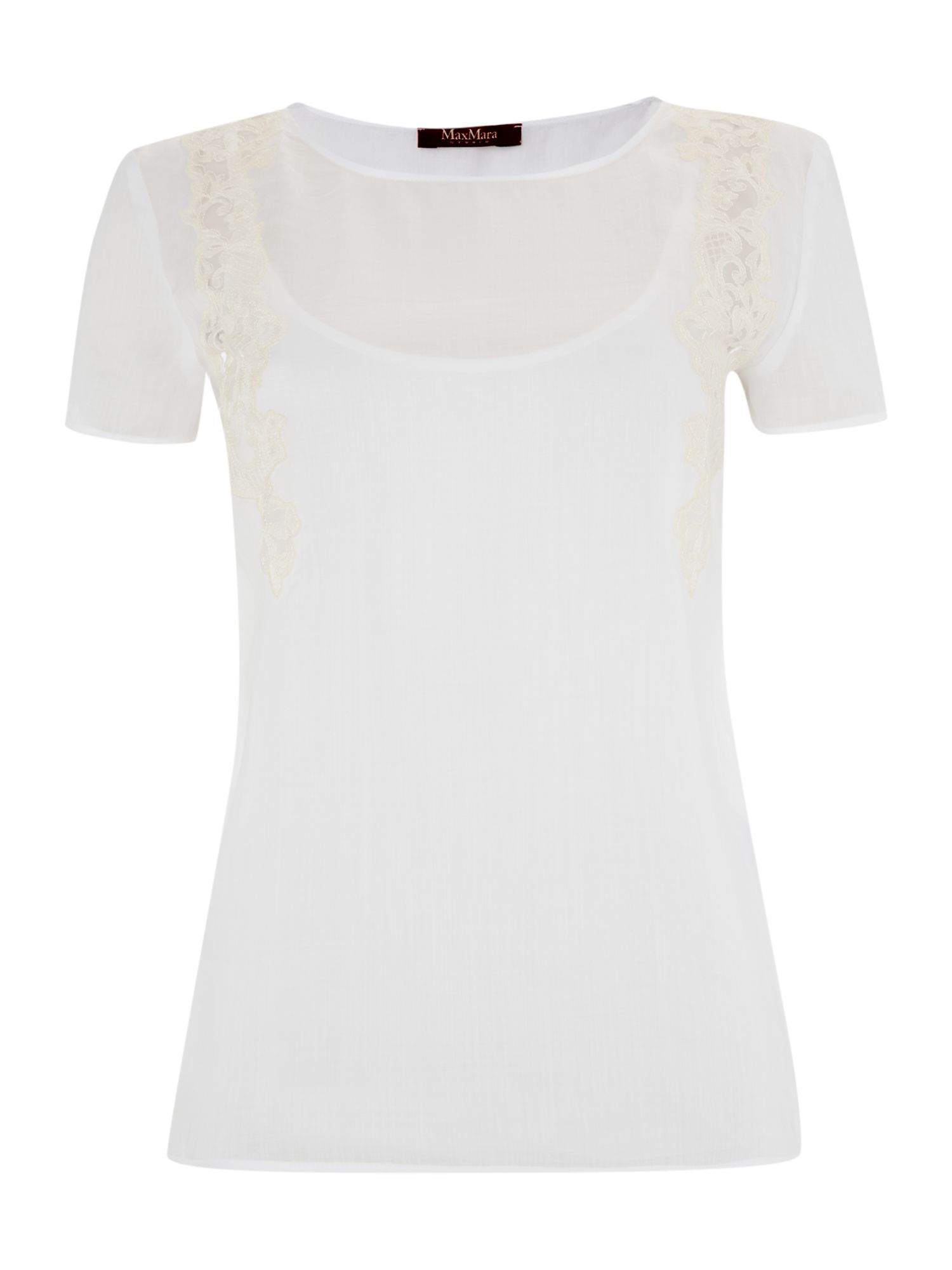 Plata lace detail top