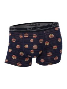 Striped spot underwear trunk