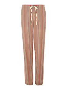 Multistripe nightwear trouser