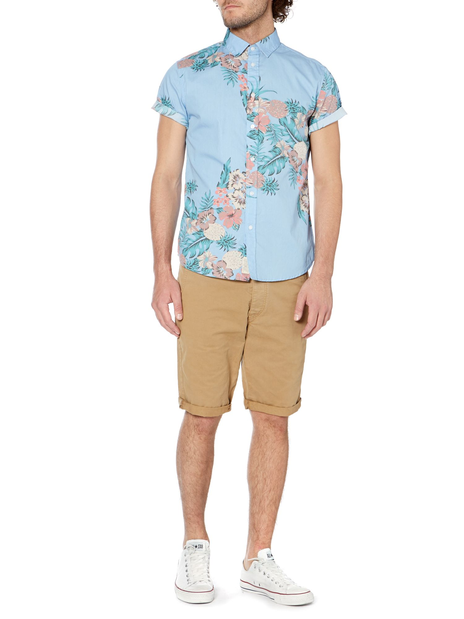 Huntington floral short sleeve shirt