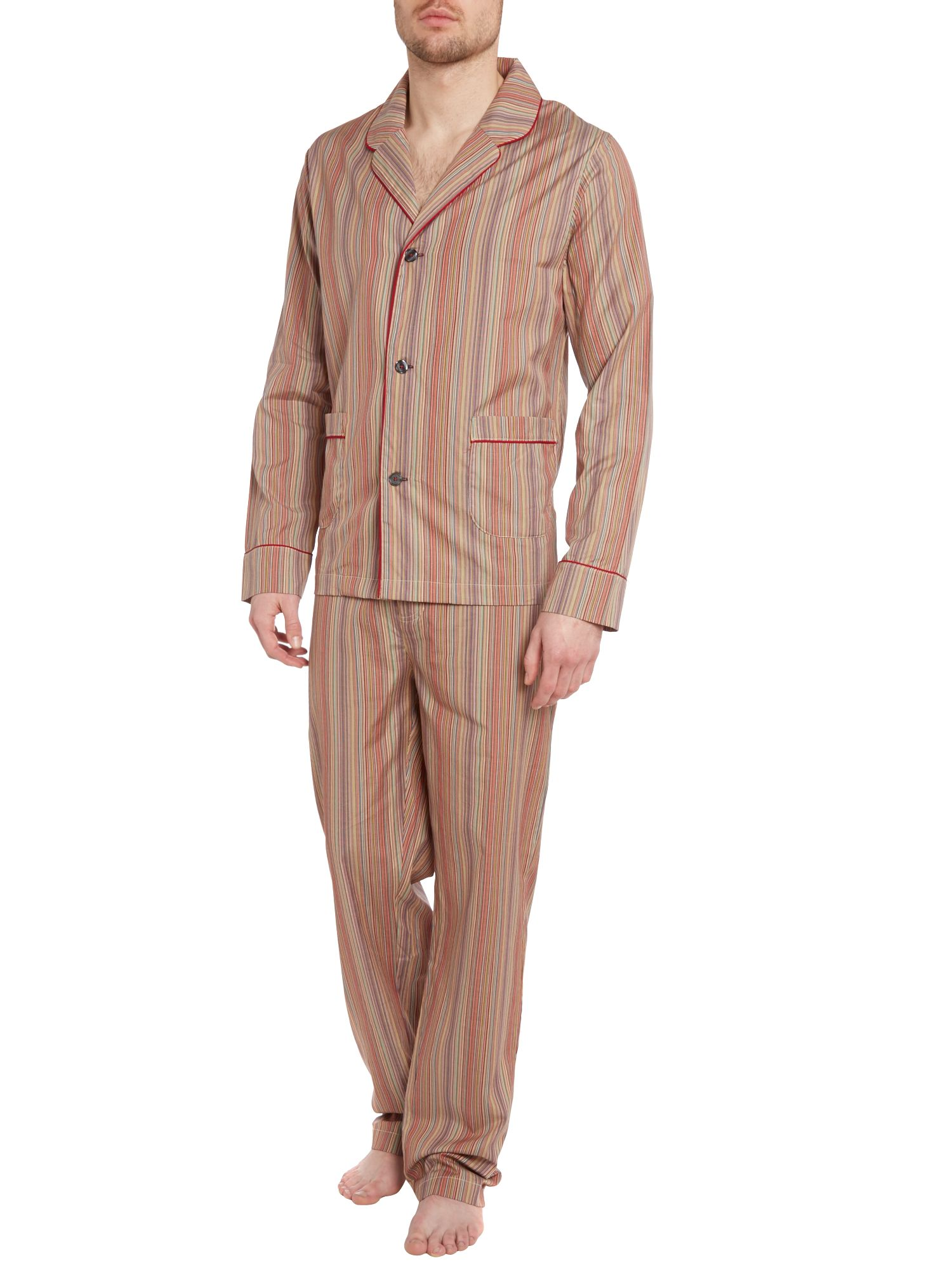 Multistripe pyjama set