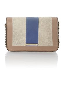 Kahlo small multi coloured shoulder bag