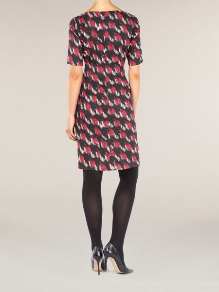 Planet Woven printed dress