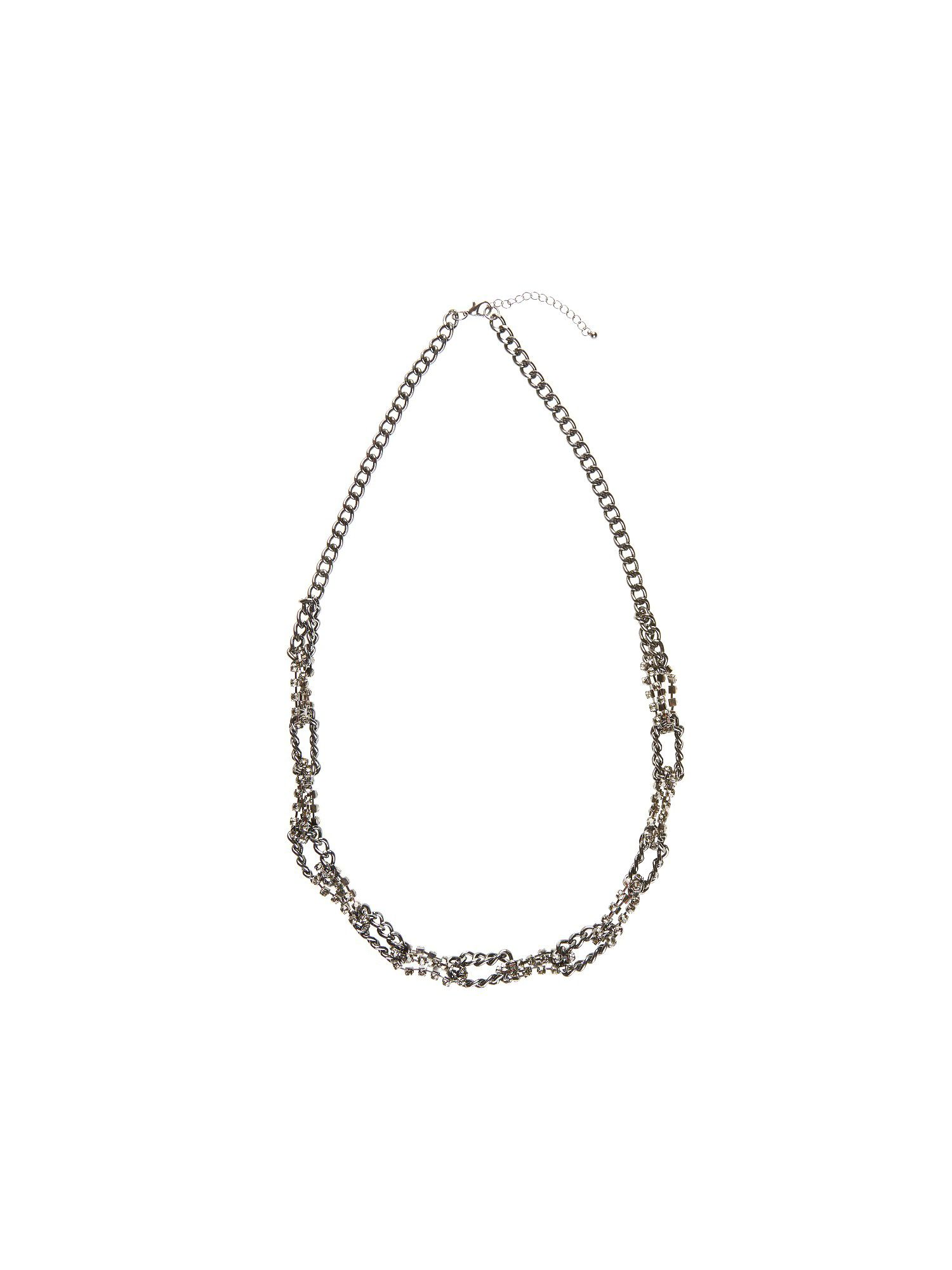 Sparkly chain link necklace