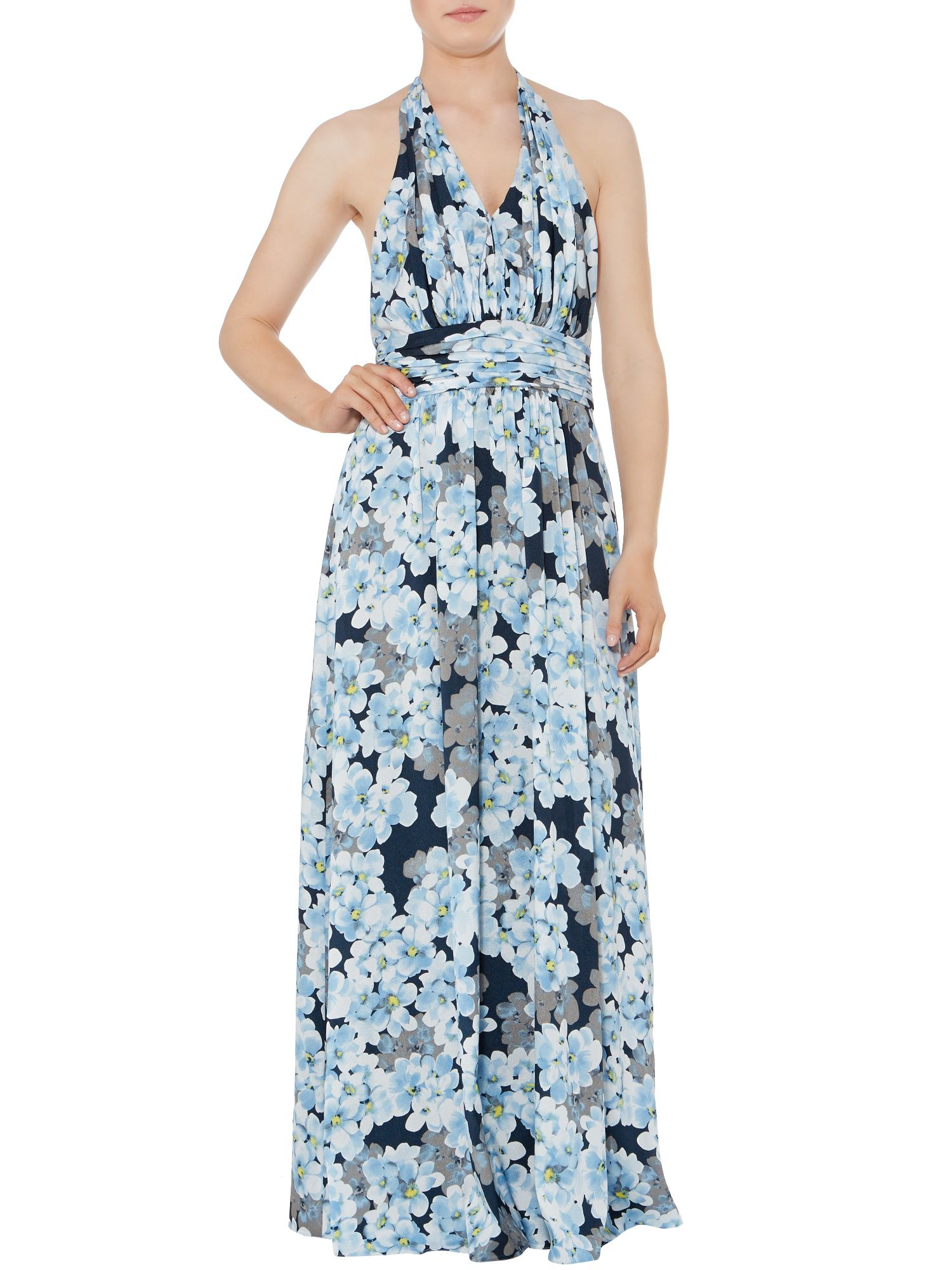 Halterneck hartlett maxi dress