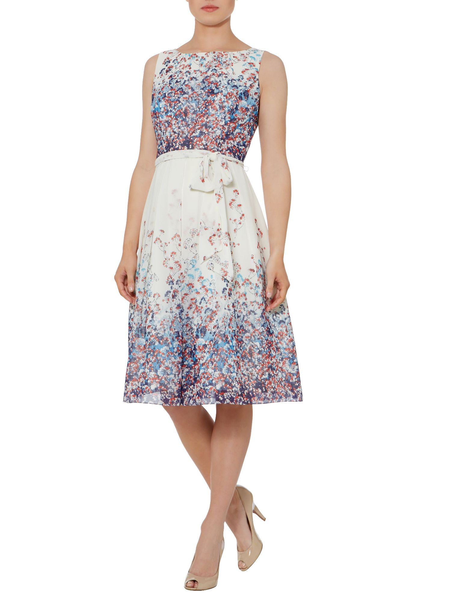 Heather floral print dress