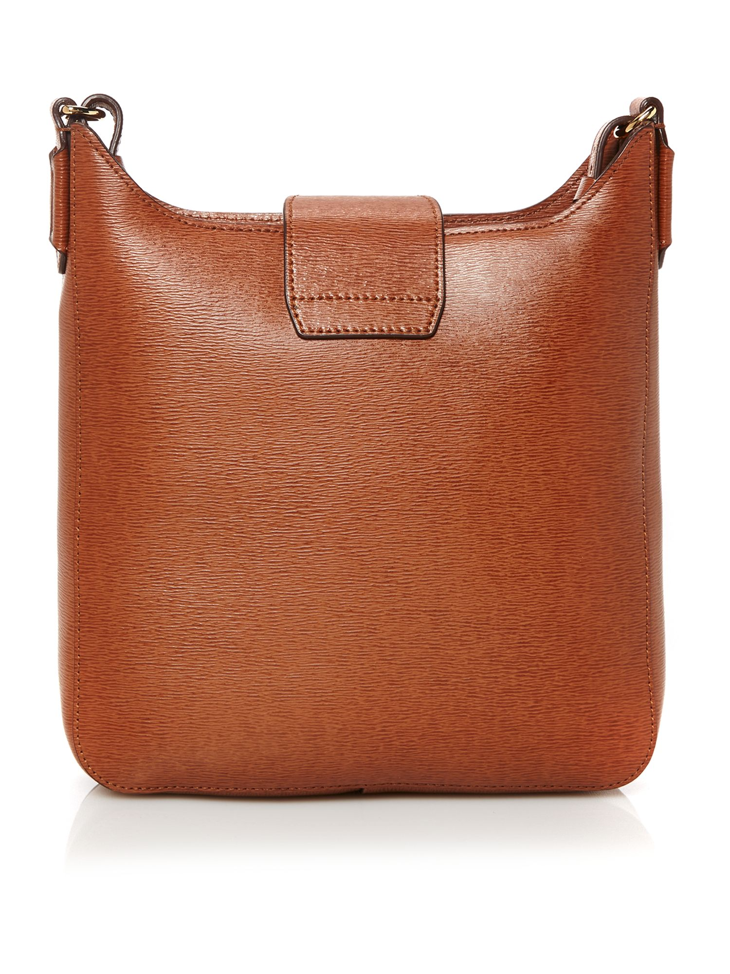 Tate tan crossbody bag