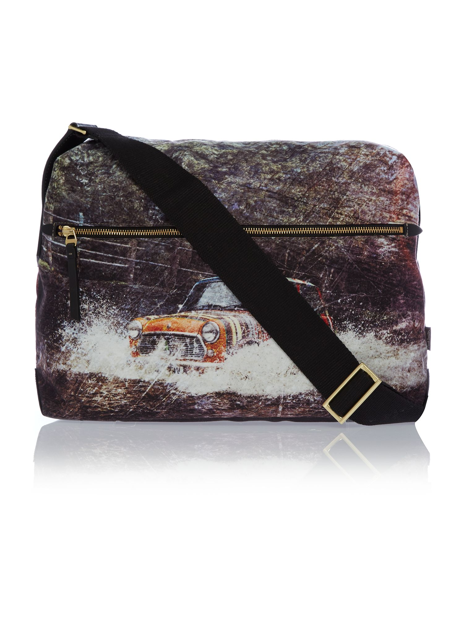 Mini car splash messenger bag