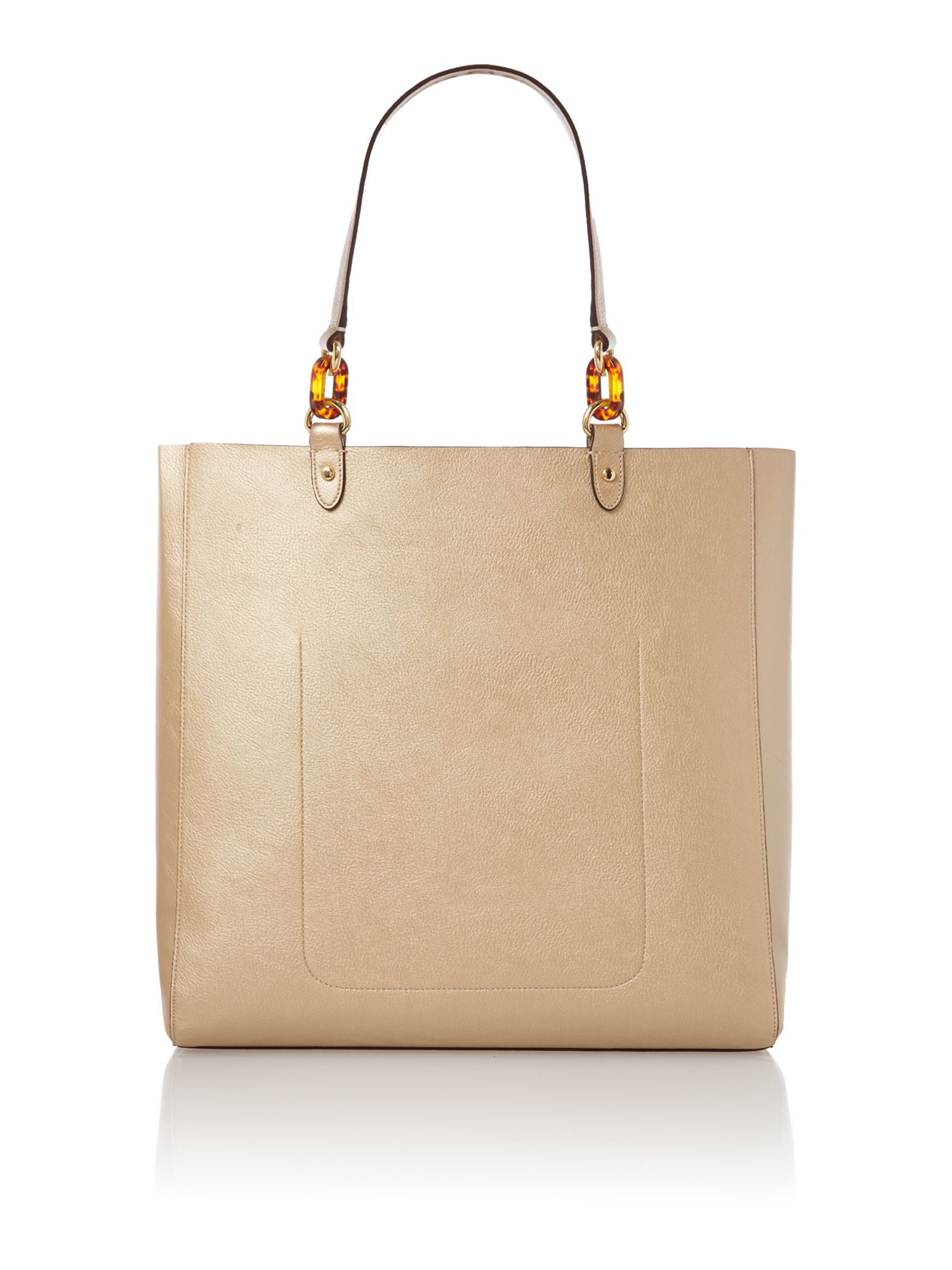 Bembridge gold tote bag