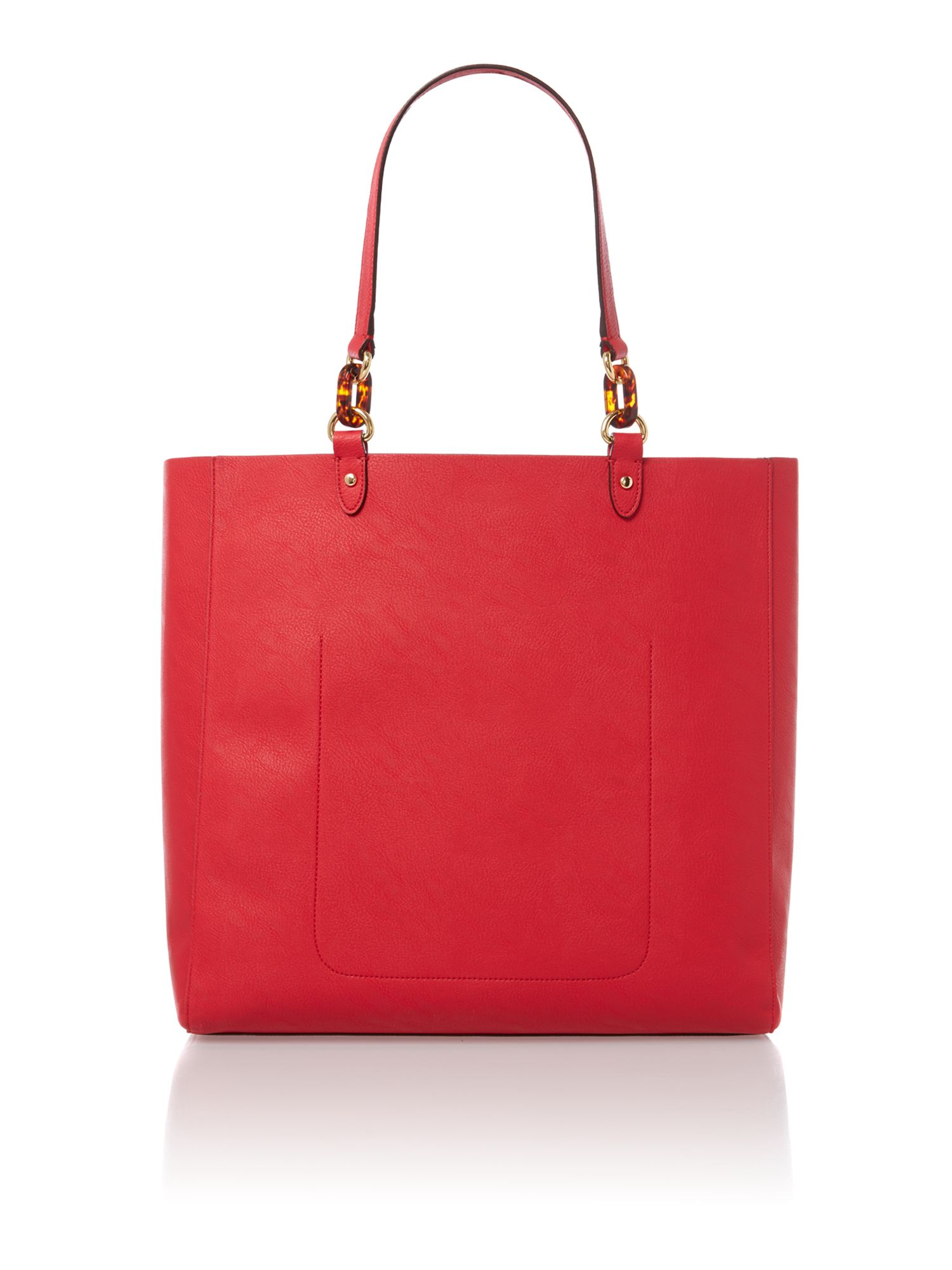 Bembridge red tote bag