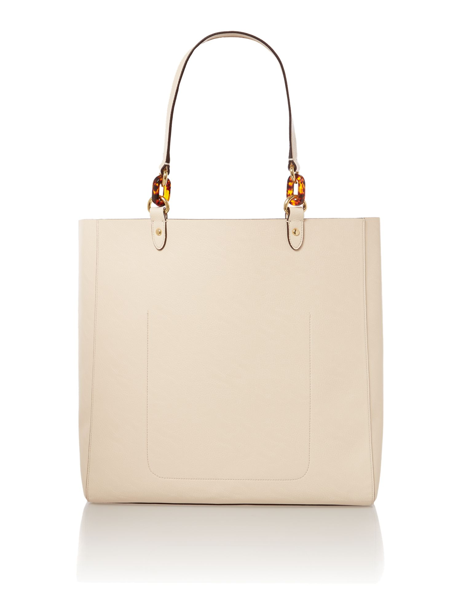 Bembridge neutral tote bag