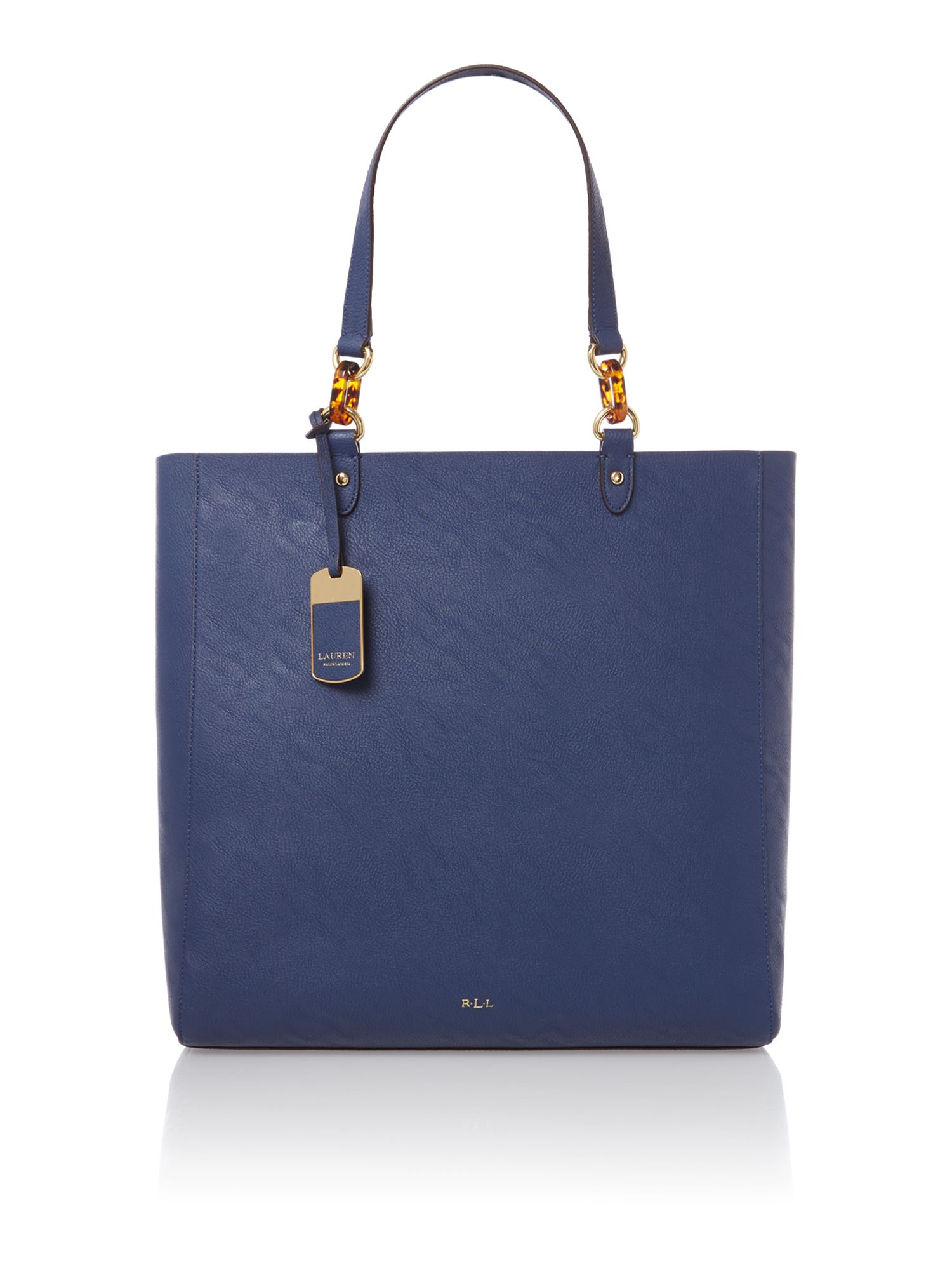 Bembridge navy tote bag