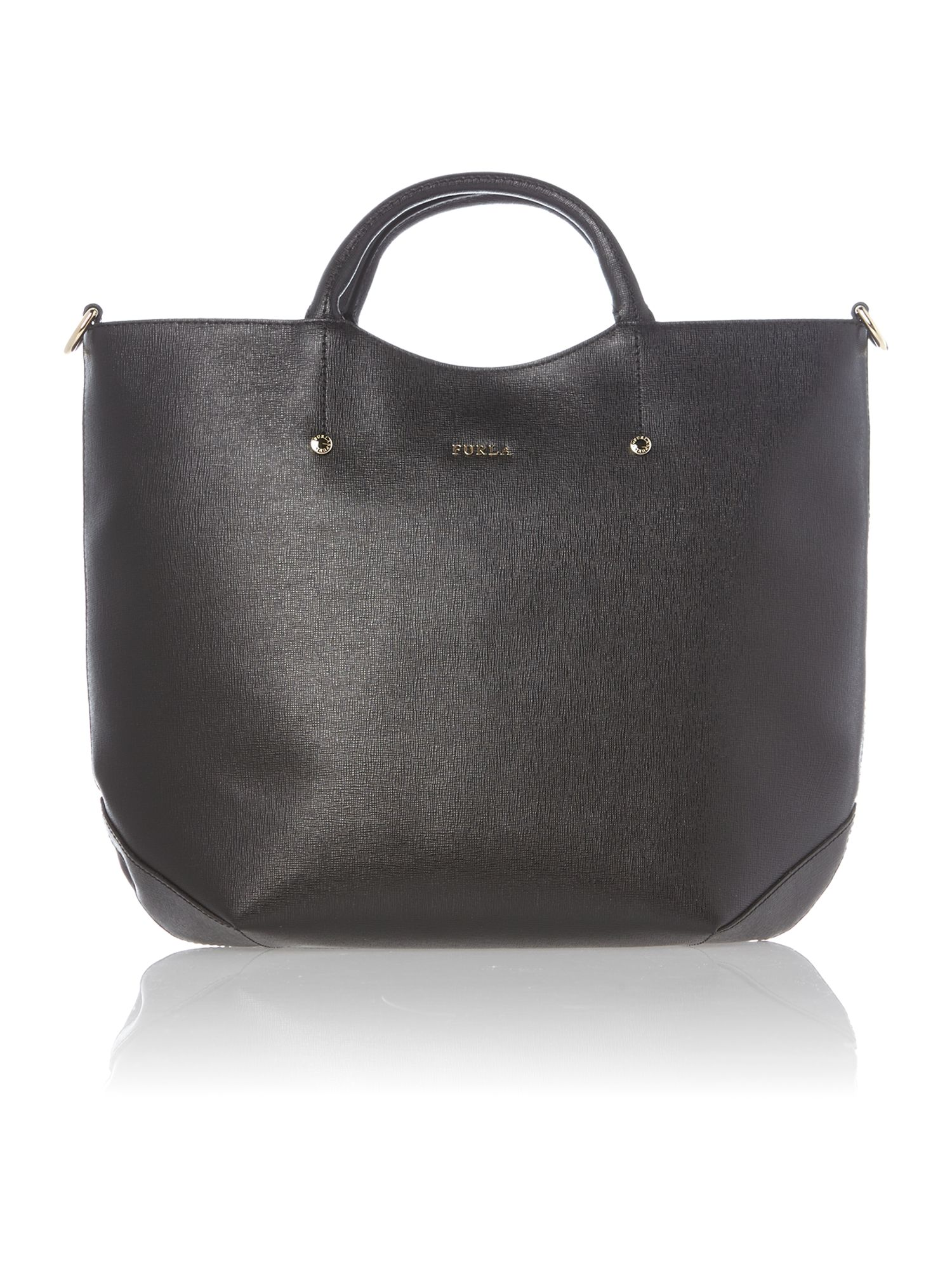 Alissa black medium tote bag