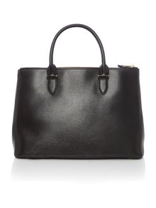 Lauren Ralph Lauren Newbury black large tote bag