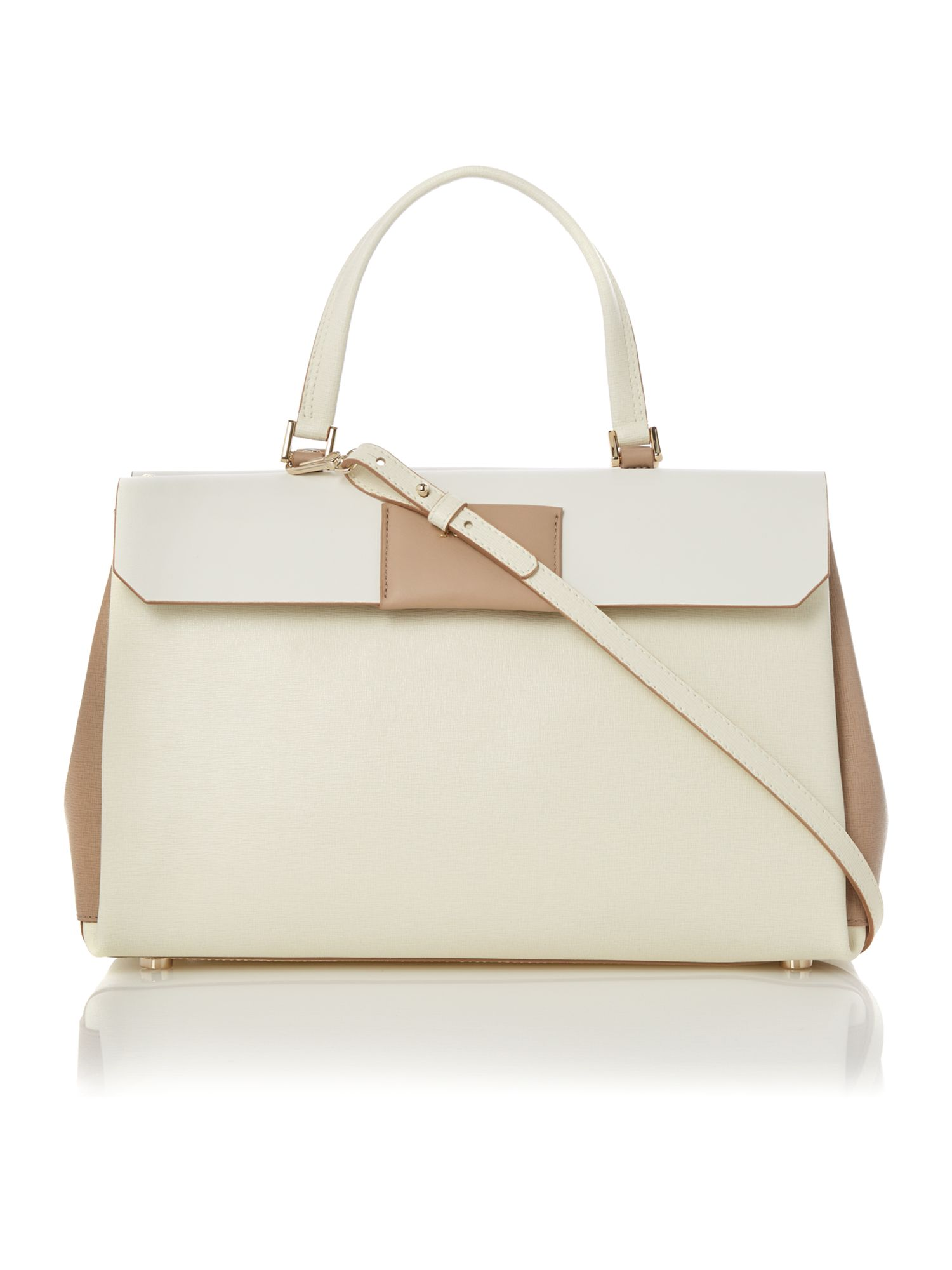 Meridienne neutral tote bag