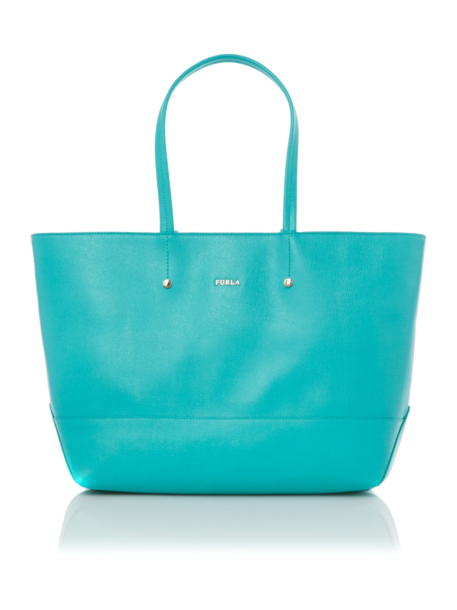 Melissa green large tote bag