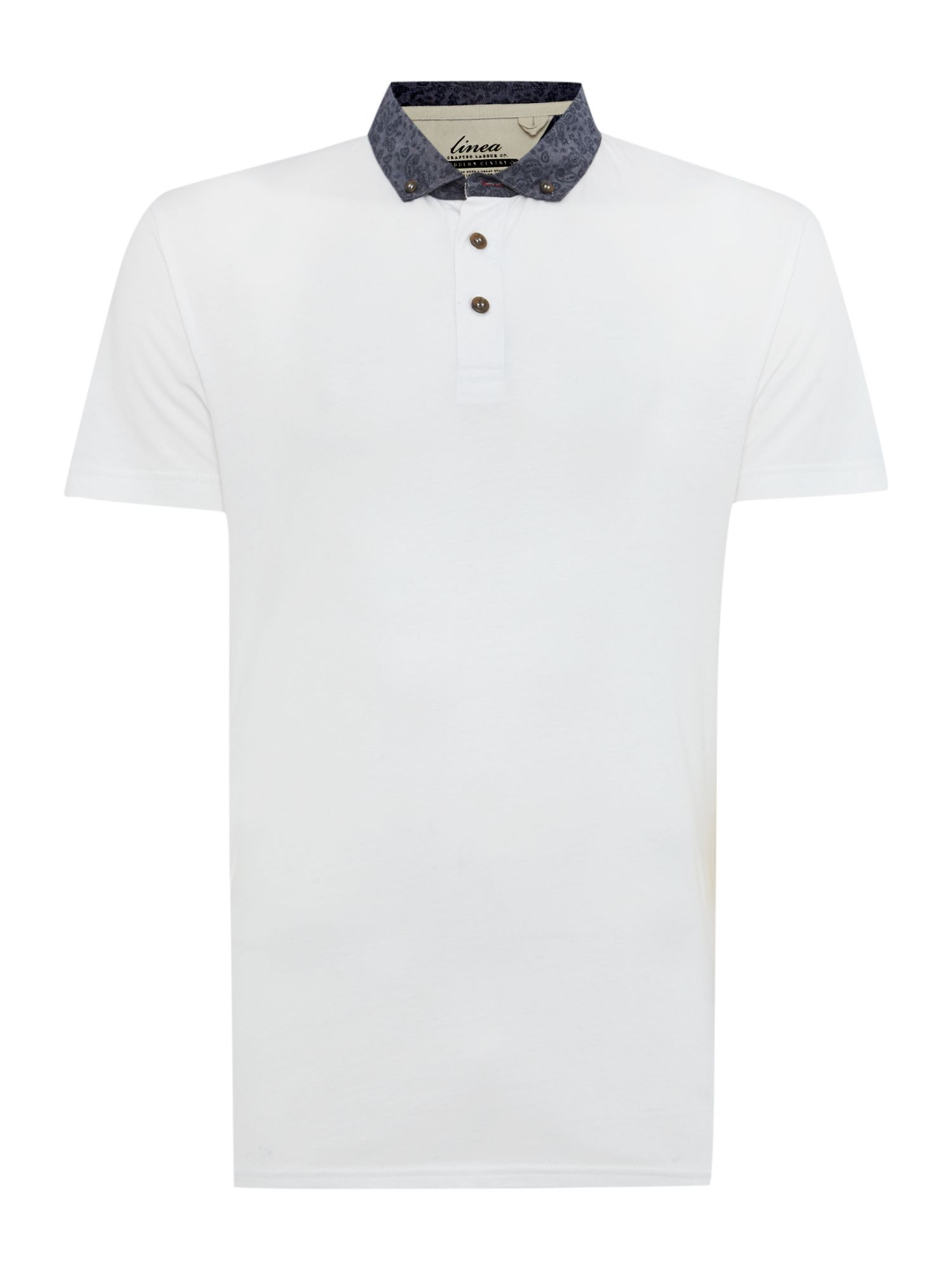 wilcox enzyme wash fabric collar polo