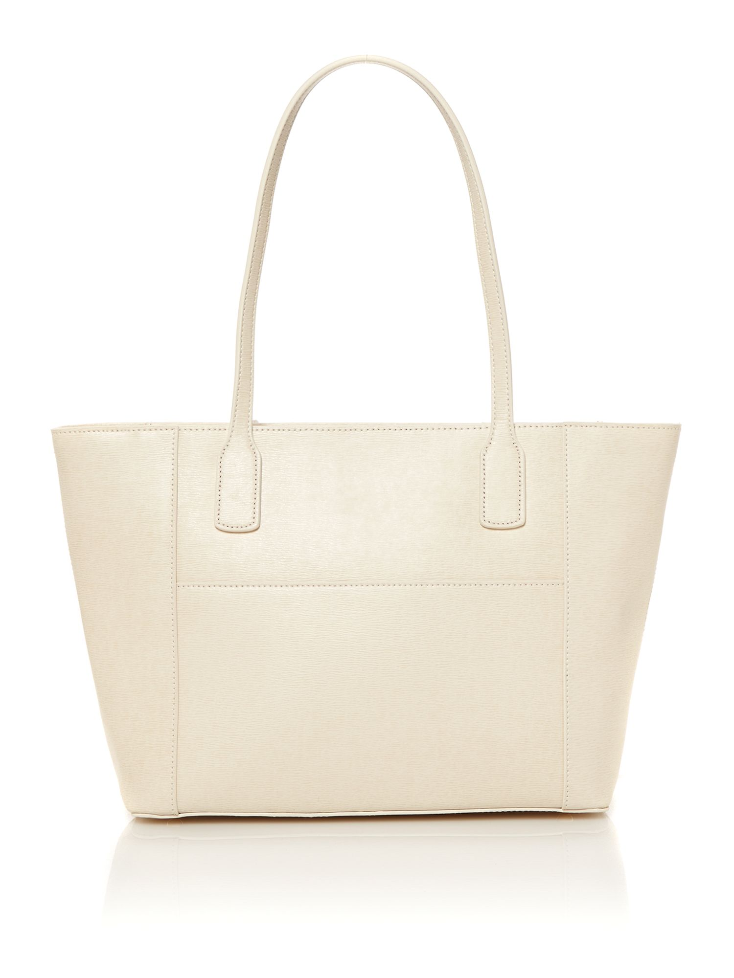 Newbury neutral tote bag