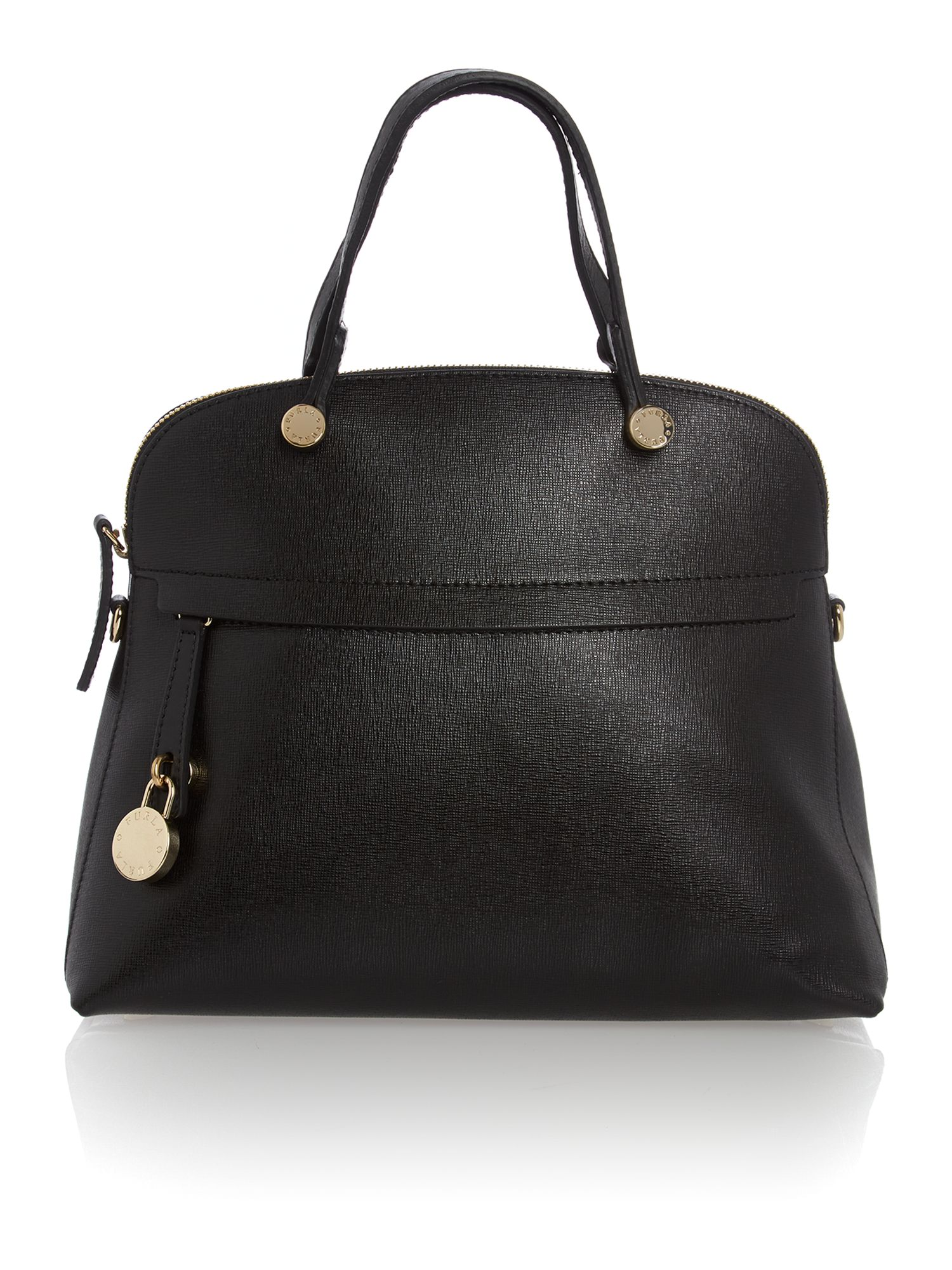 Polaris black small cross body bag