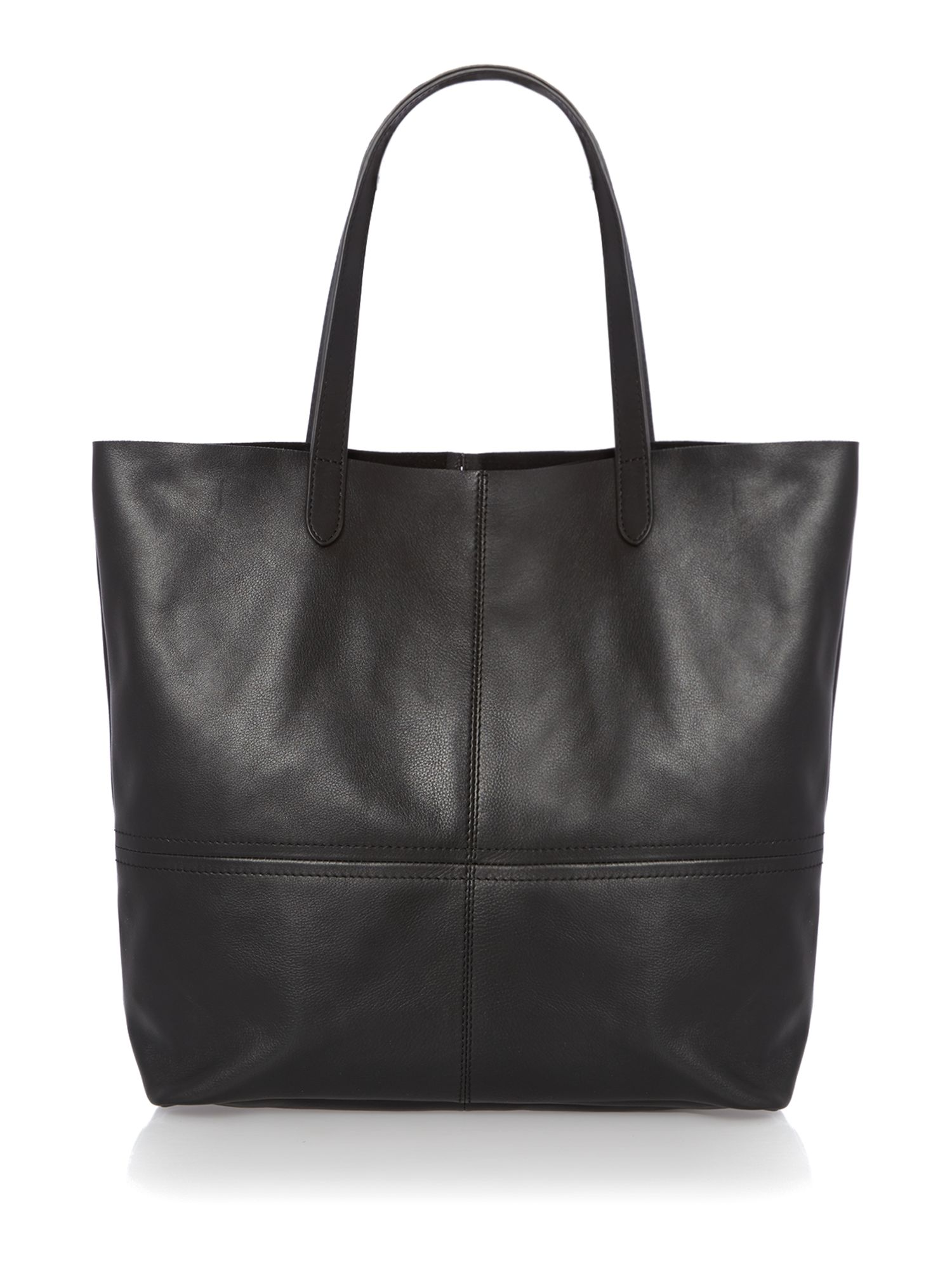 Unlined tote bag