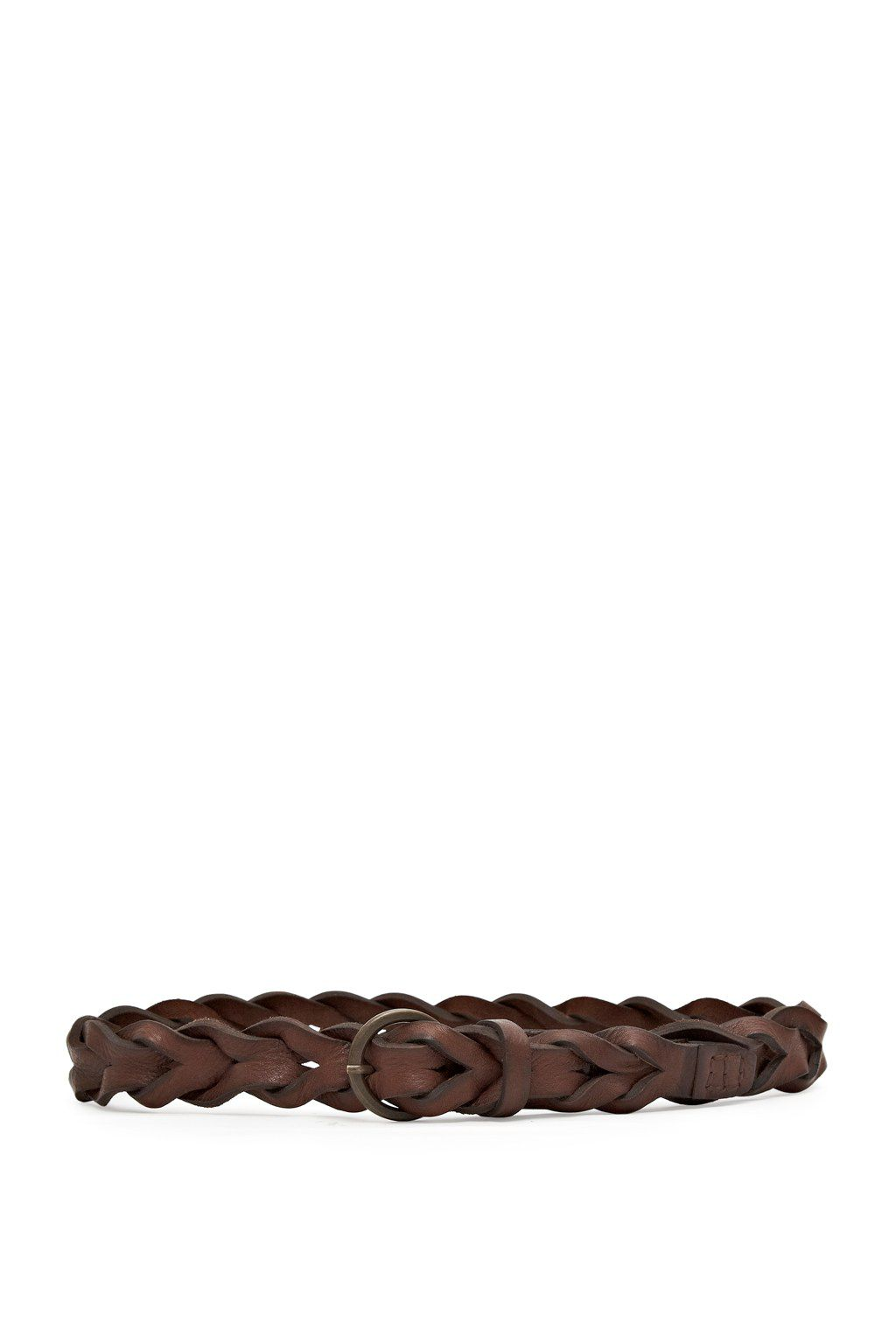 Braided belt plait belt