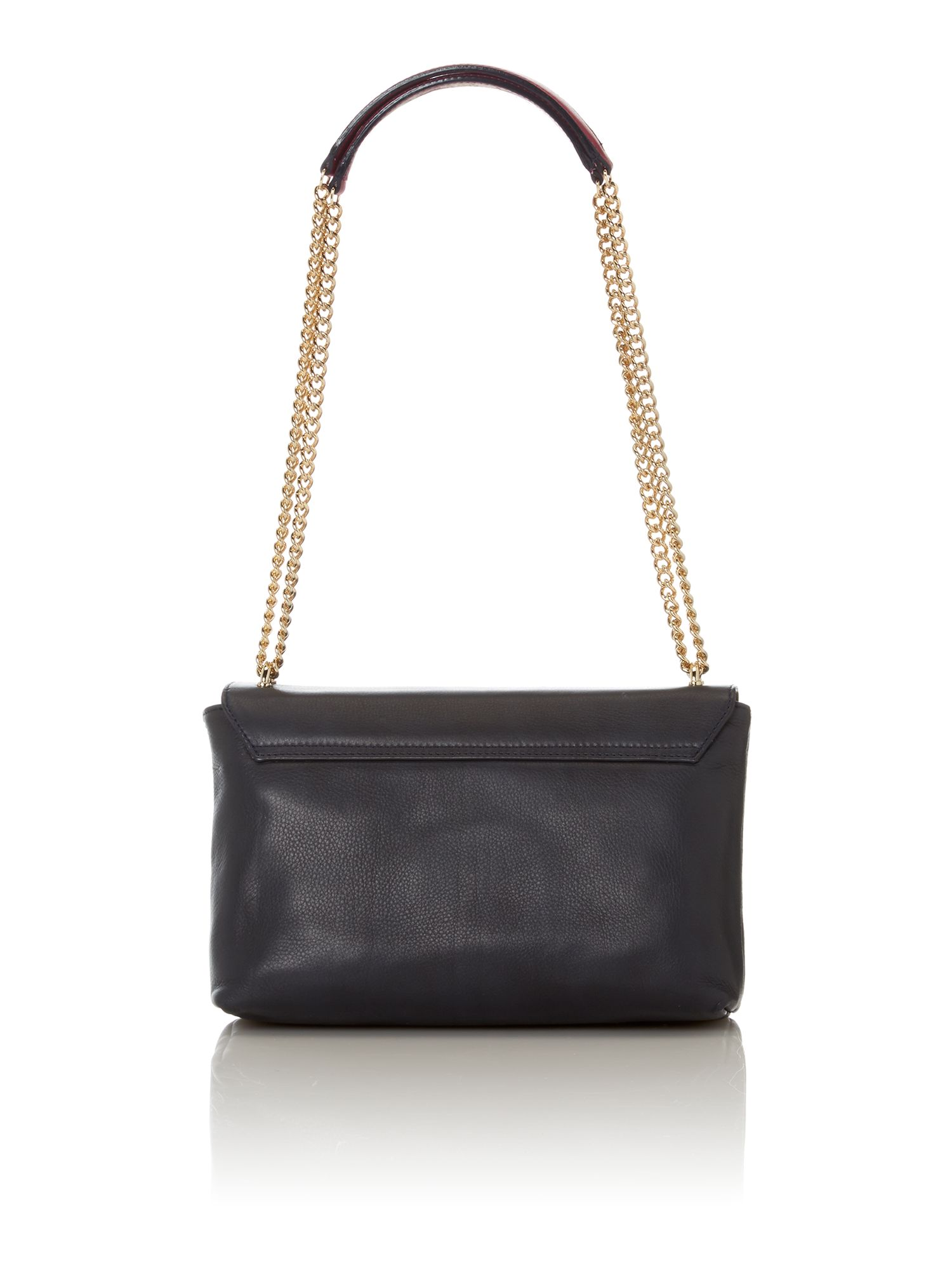 Chelsea navy shoulder bag