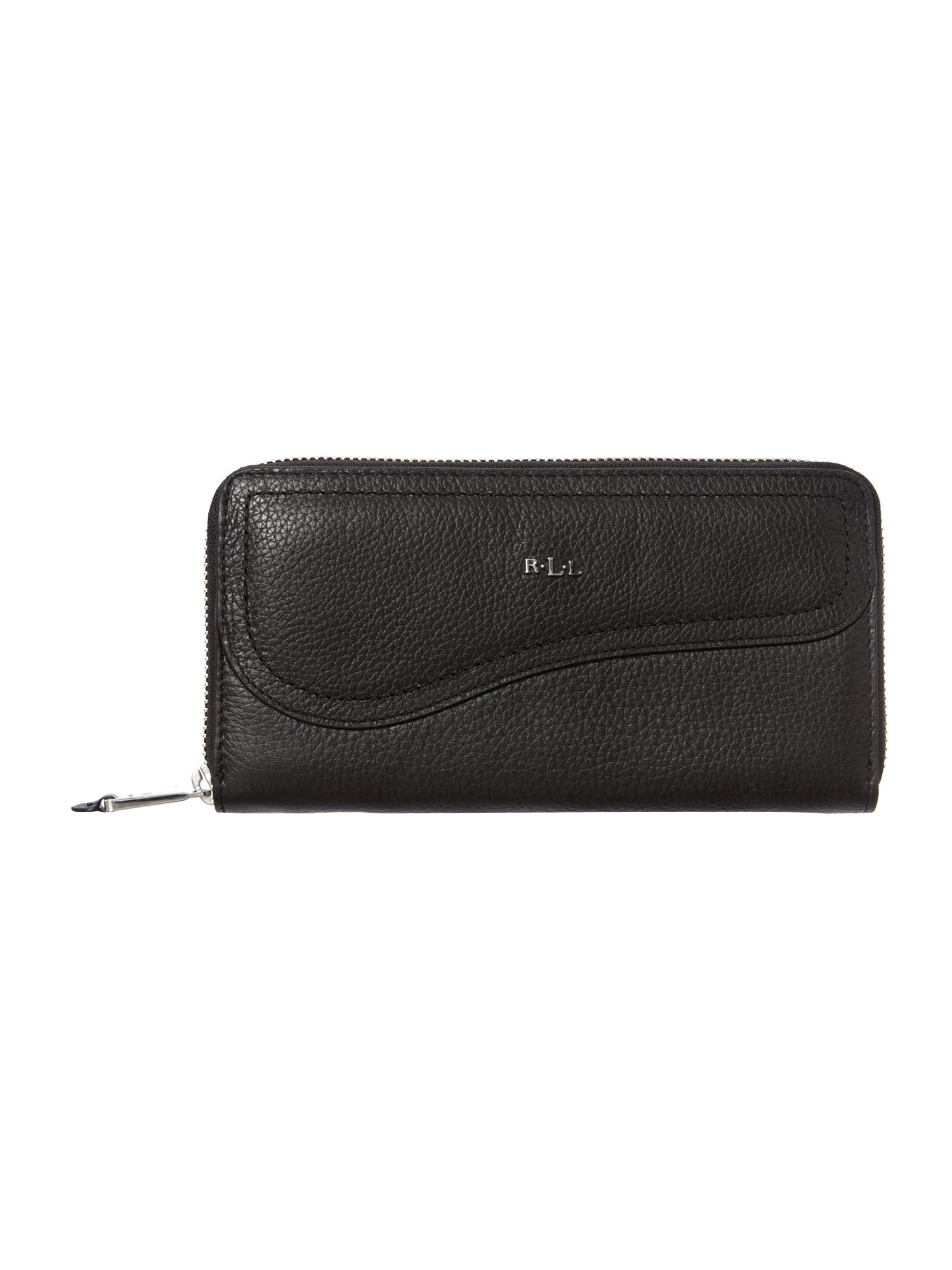 Marlow black flap over purse