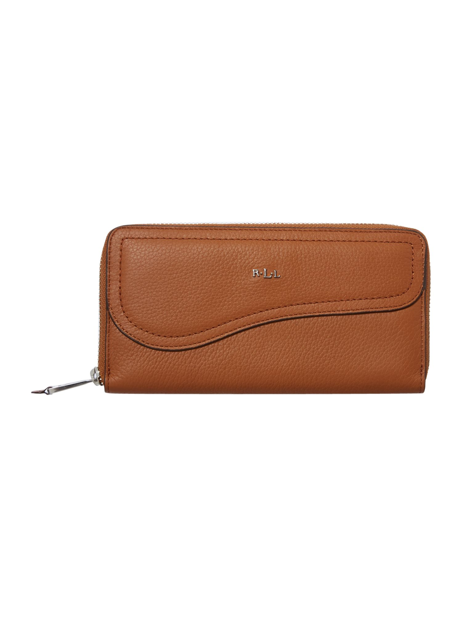 Marlow tan flap over purse