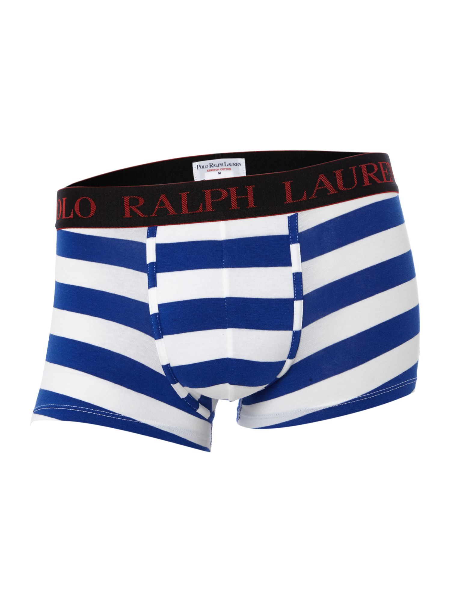 Rugby stripe underwear trunk