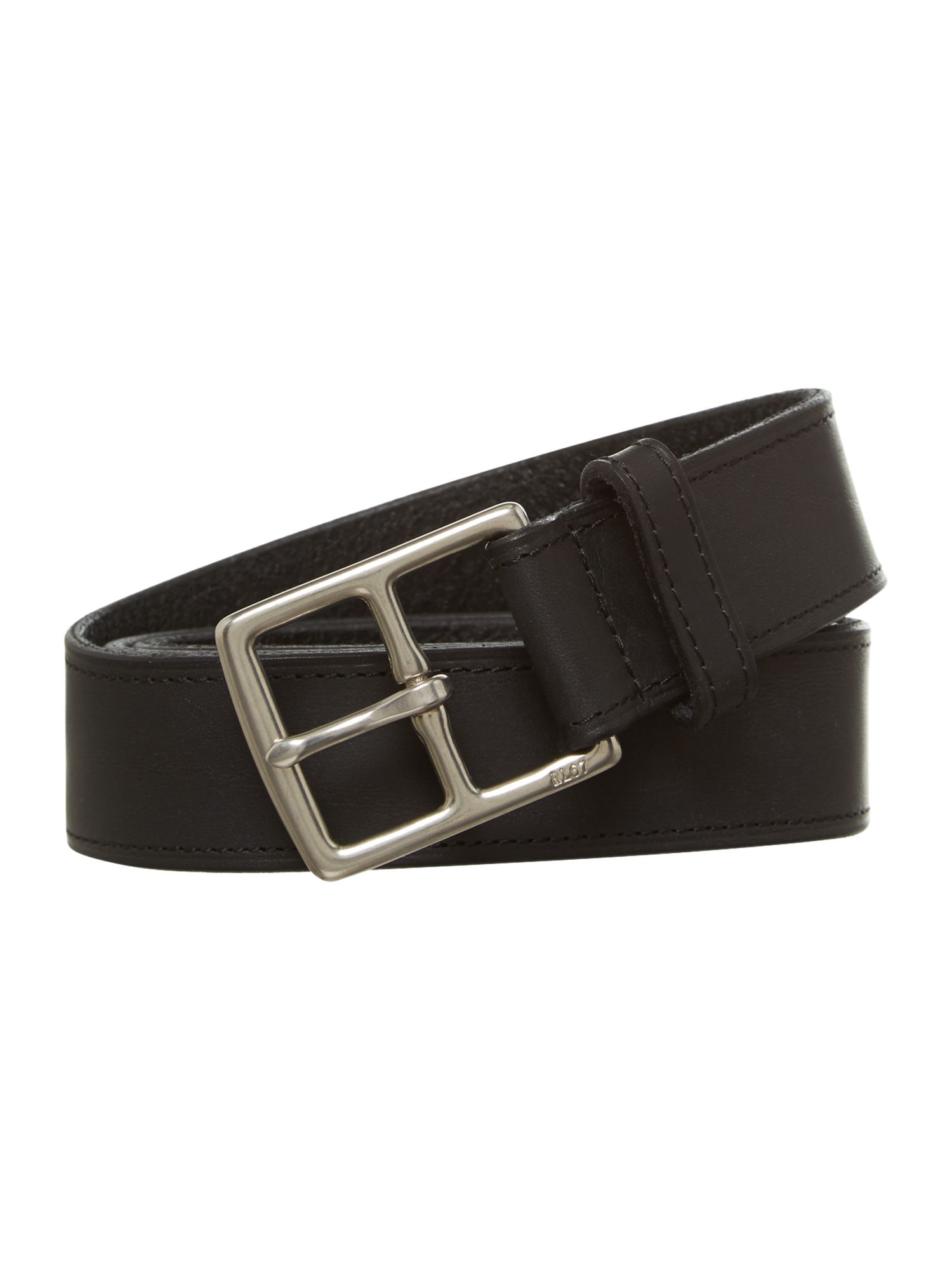 Heritage leather belt