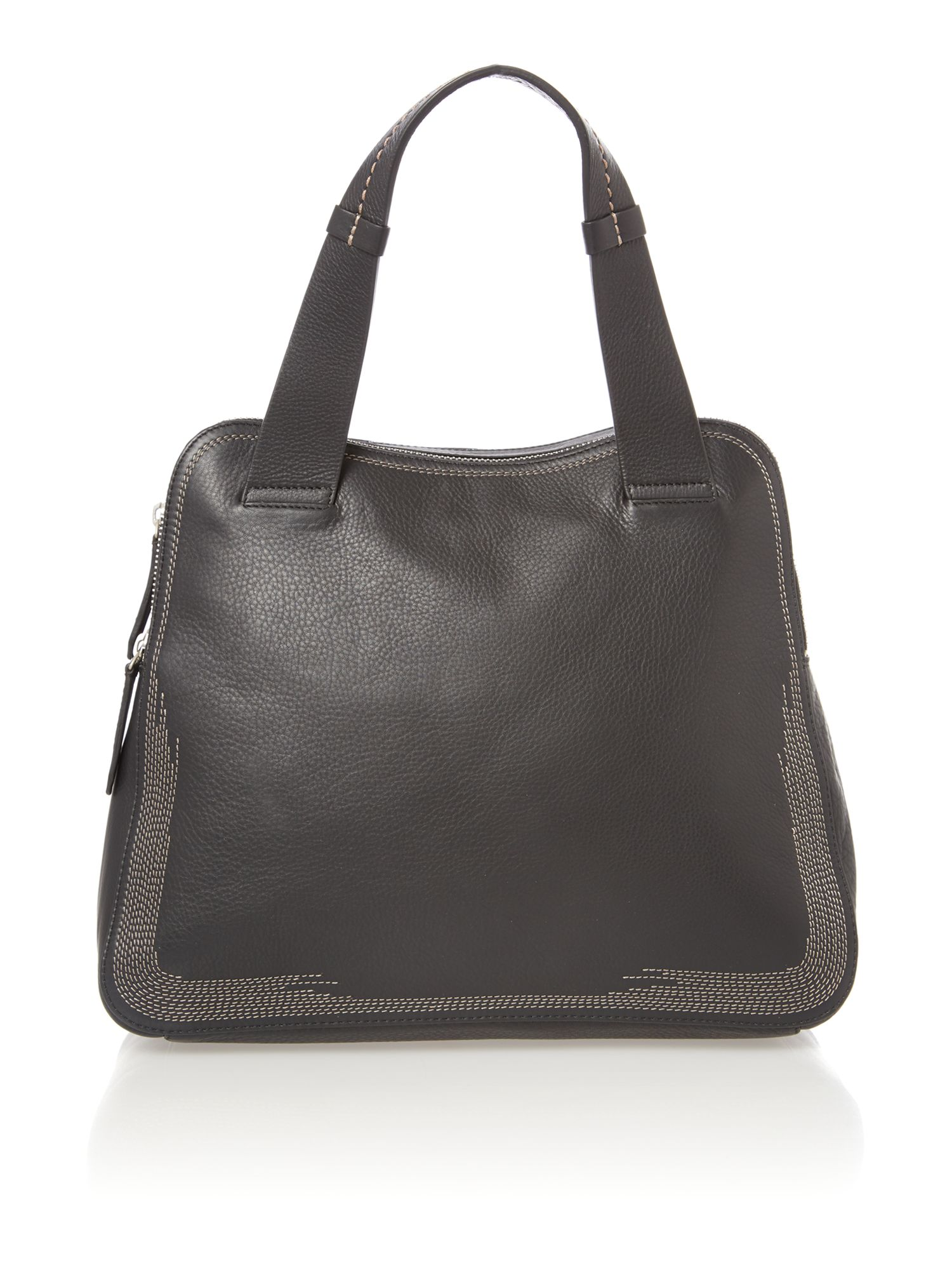 Westbury black large dome bag