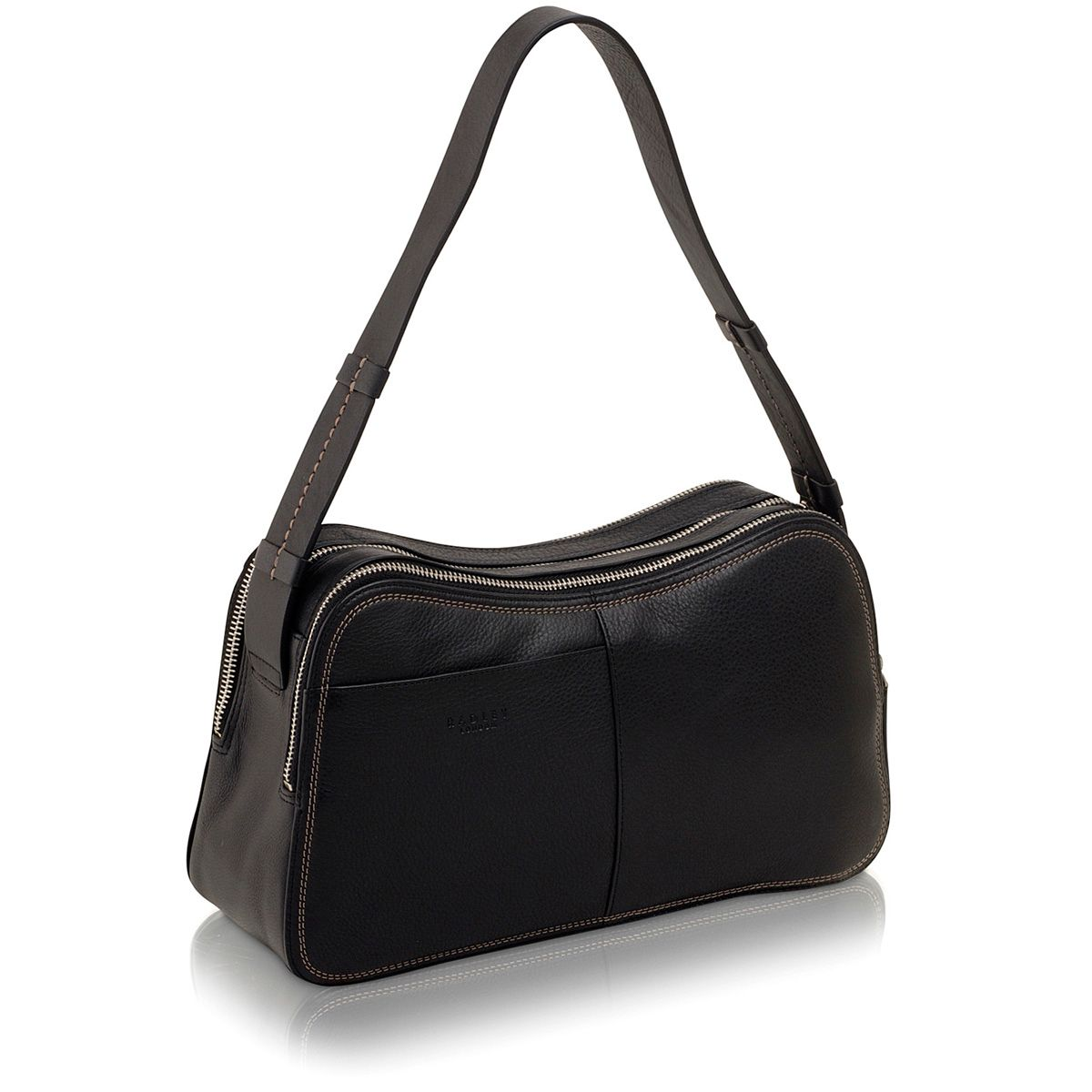 Westbury black medium shoulder bag