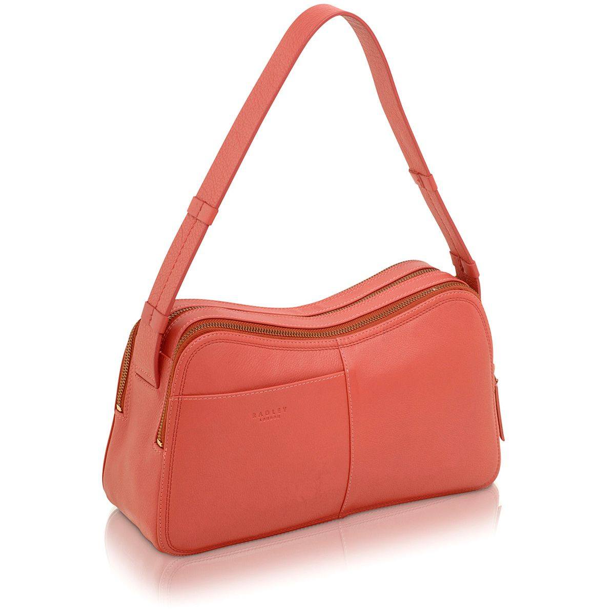 Westbury pink medium shoulder bag