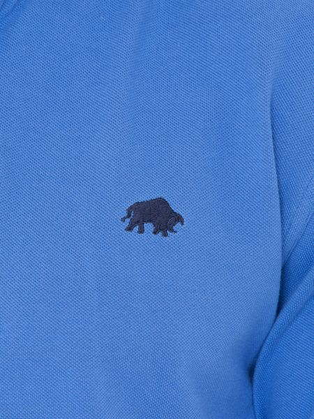 Raging Bull Big And Tall Signature Pique Polo Cobalt