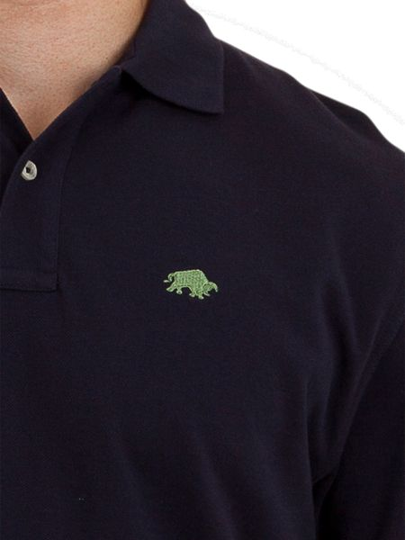Raging Bull Big And Tall Signature Pique Polo Navy