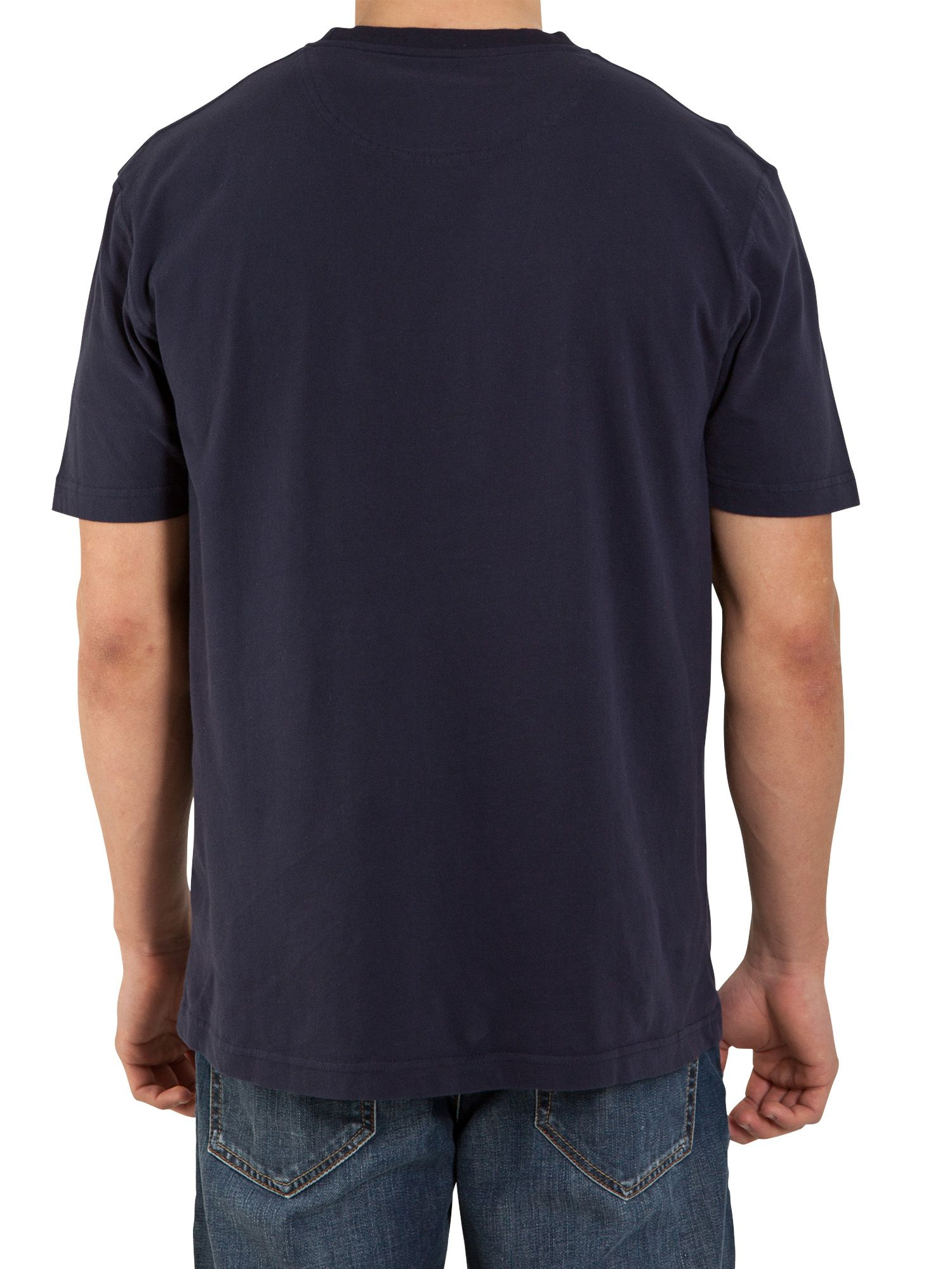 Big and tall signature tee navy