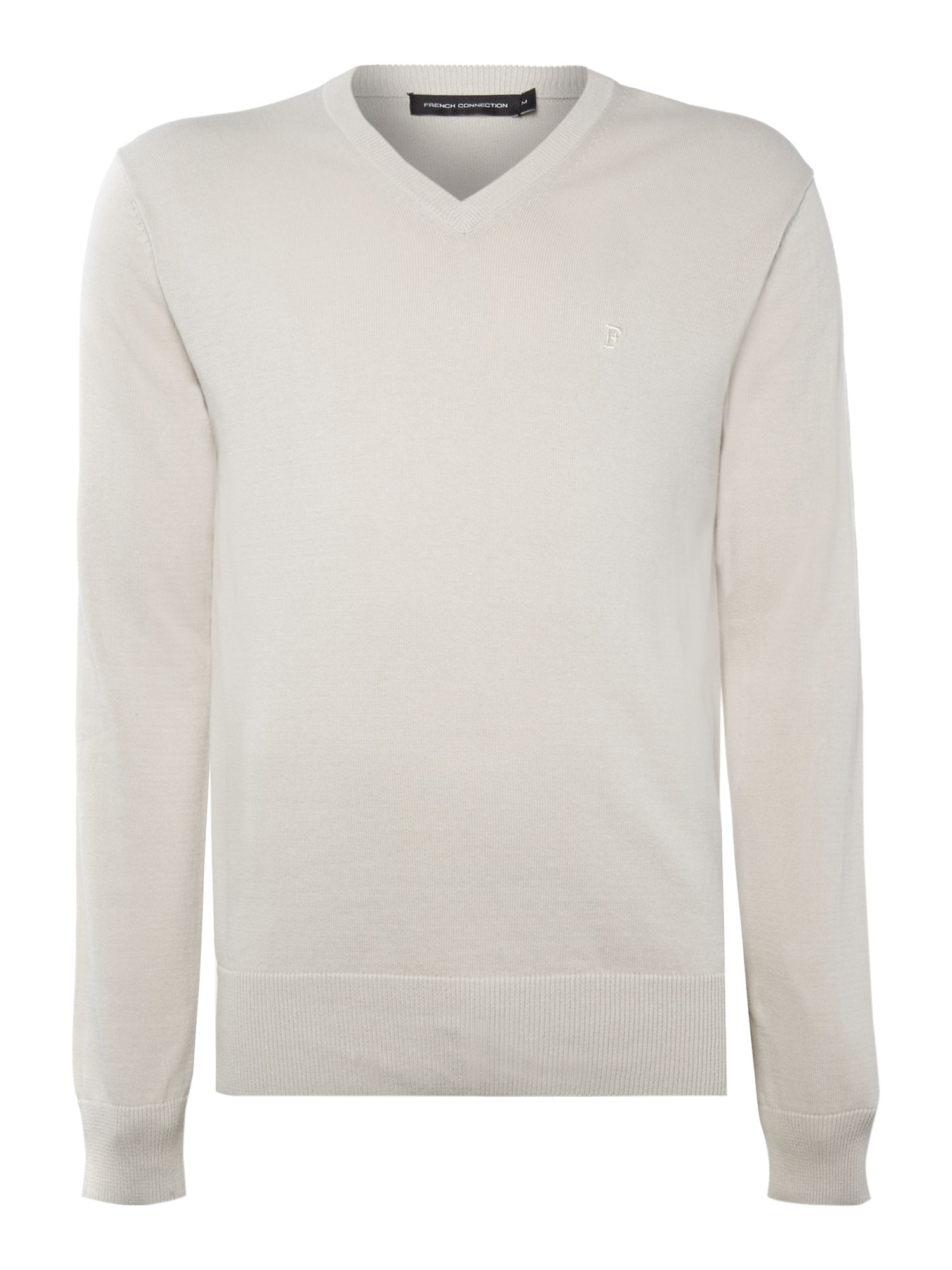 Auderly cotton v neck  jumper