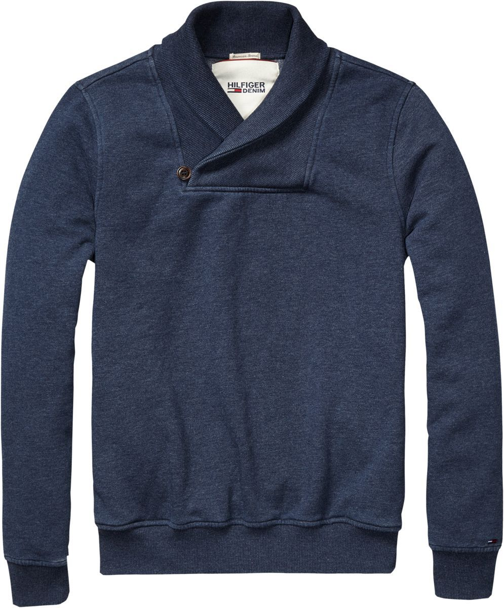 Kopper shawl neck jumper