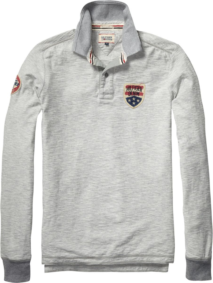 Pilot badge polo