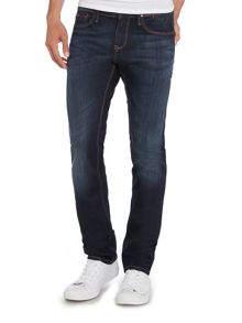 Sidney Src Dark Wash Low Rise Jeans