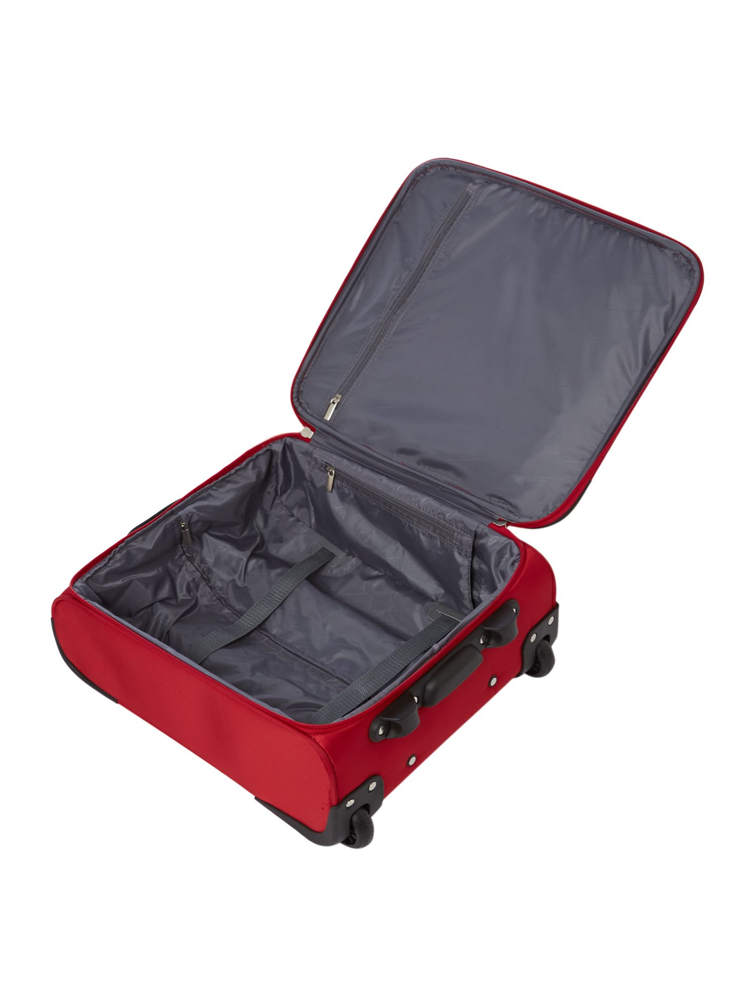 All airline red 2 wheel cabin case