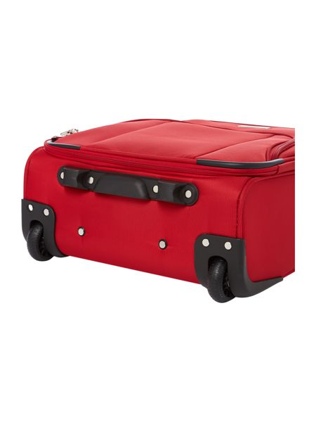Linea All airline red 2 wheel cabin suitcase