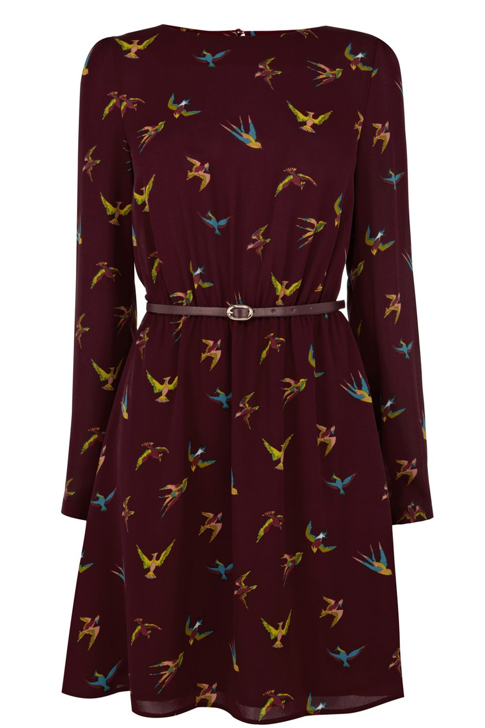 Tropical Bird Dress