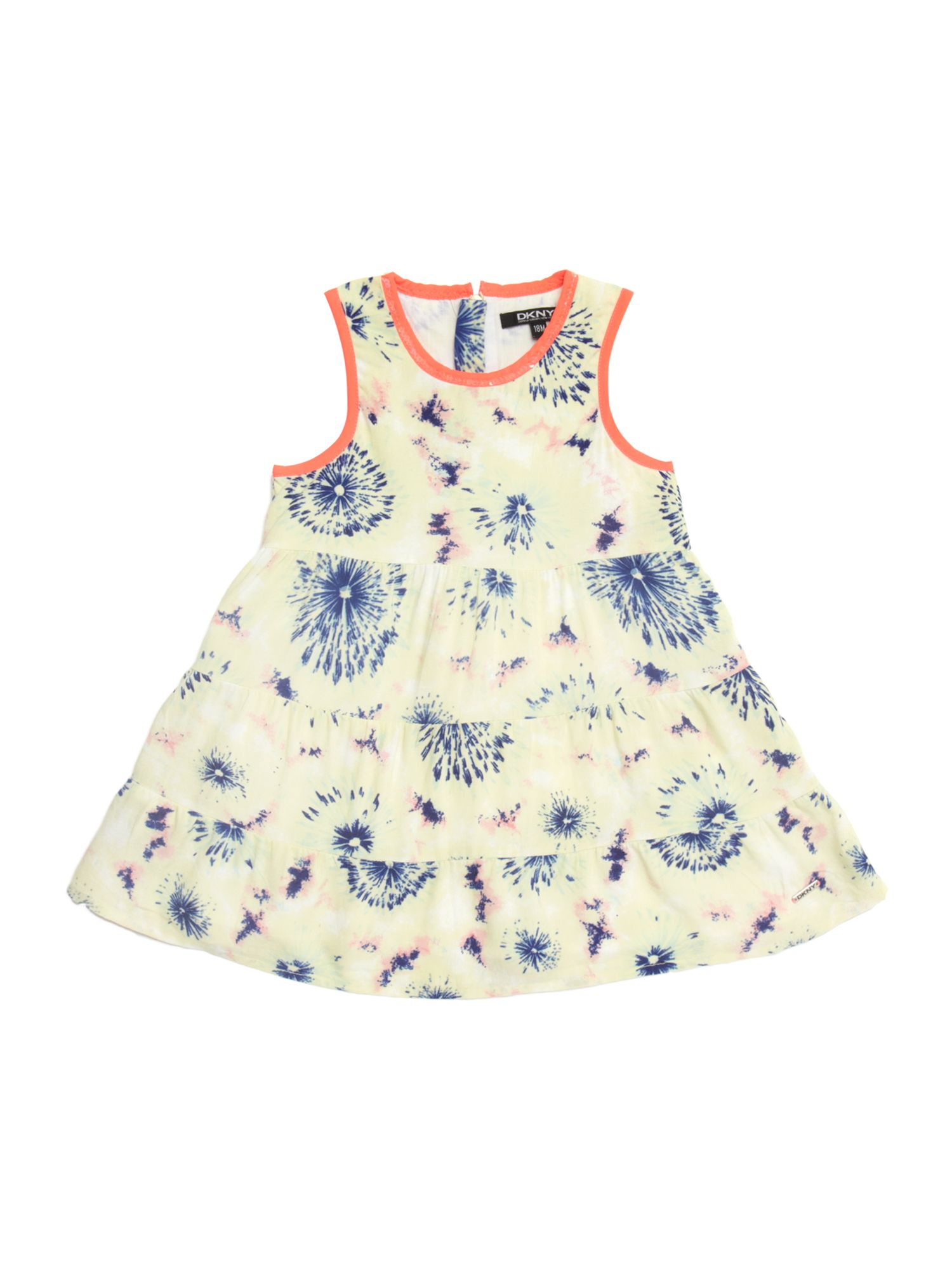 Girls tie dye sleeveless dress