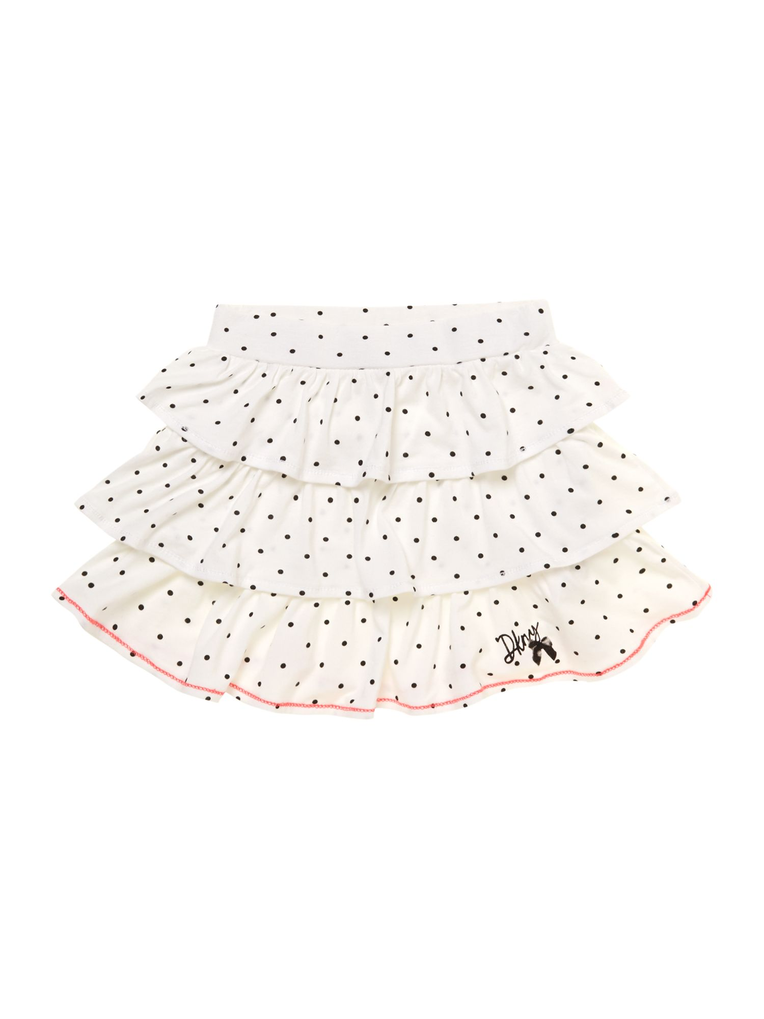 Girl`s frilled dot print skirt